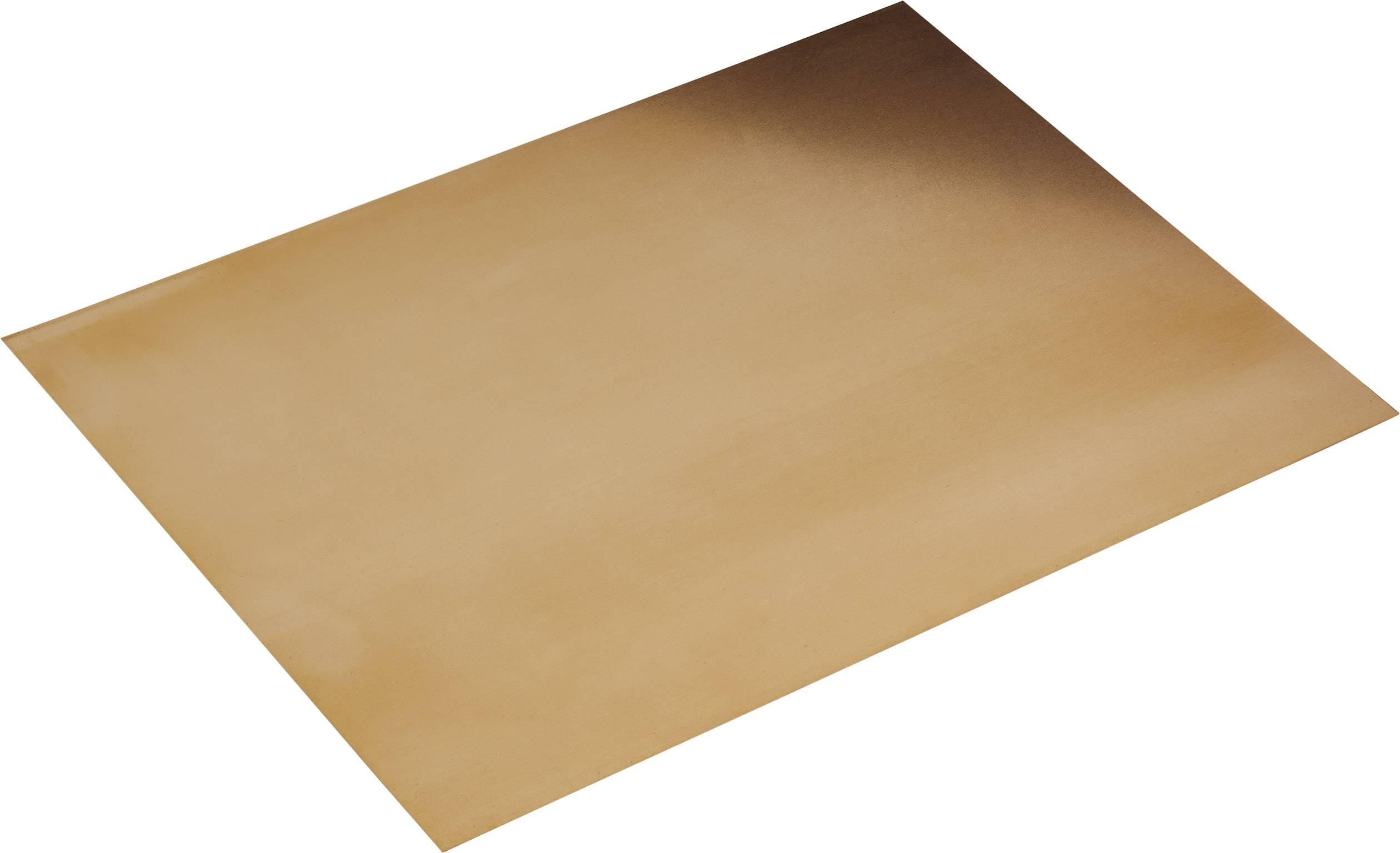 Fosforbronzová deska Modelcraft 200 x 150 x 1,0 mm