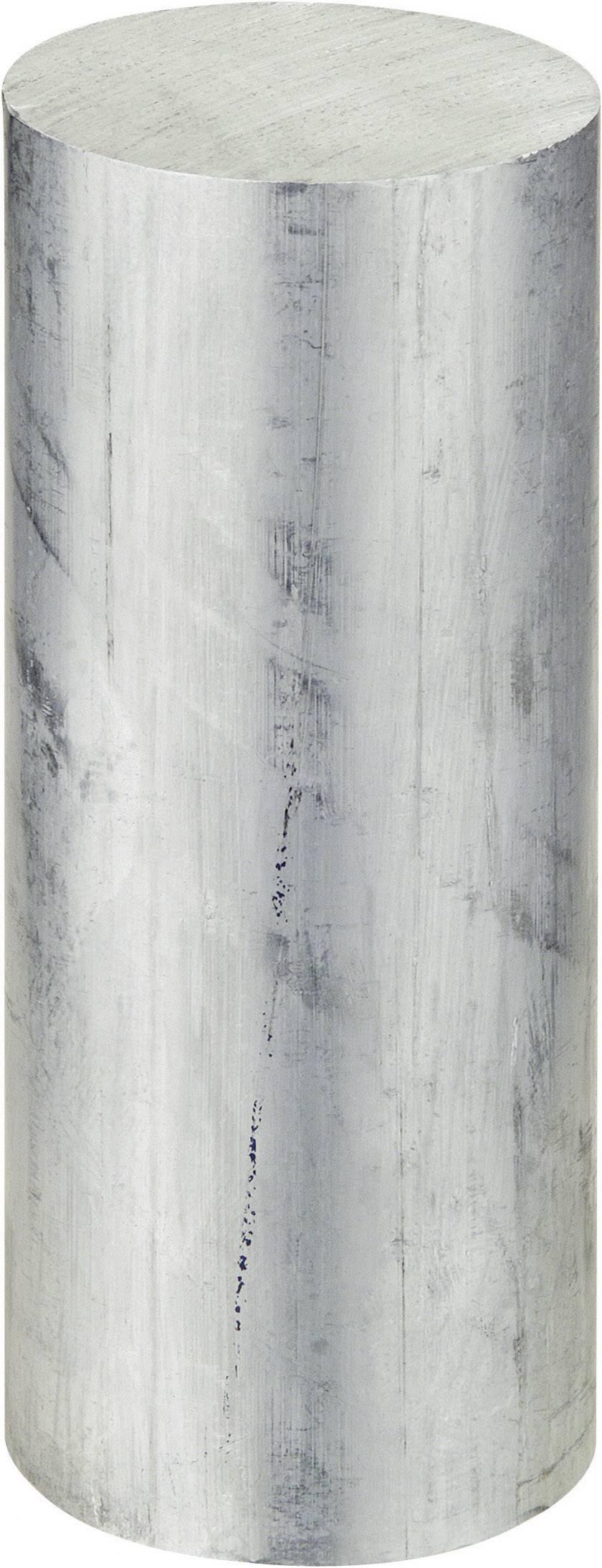 Guľatý profil Reely 222509, (Ø x d) 40 mm x 100 mm, hliník
