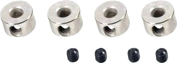 Zajišťovací kroužek Modelcraft, Ø 2,5 mm, 10 ks