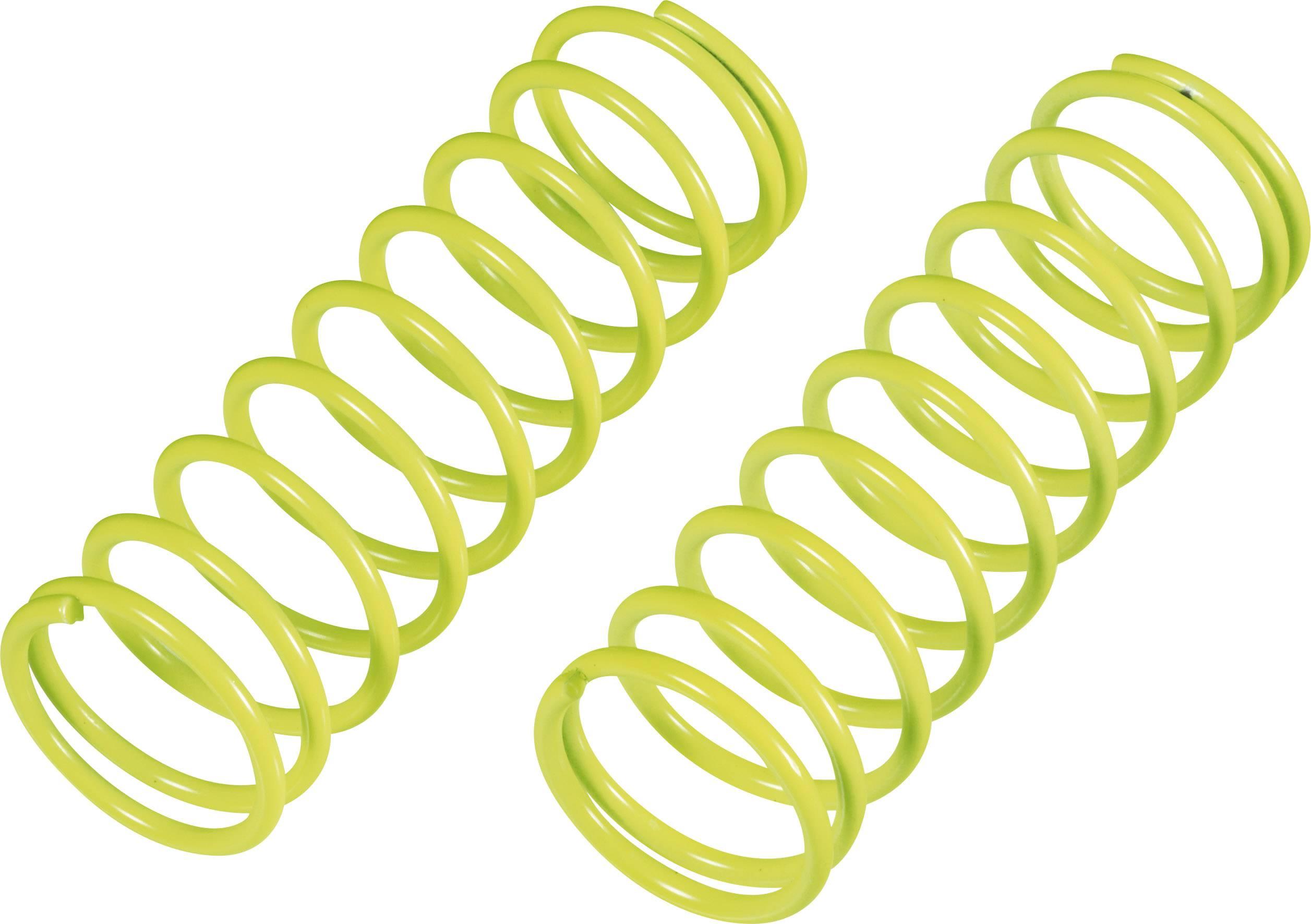 Pružina tlumiče Reely Medium, 58 x 1,6 mm, neonově žlutá, 1:8, 2 ks (MV1383Y)