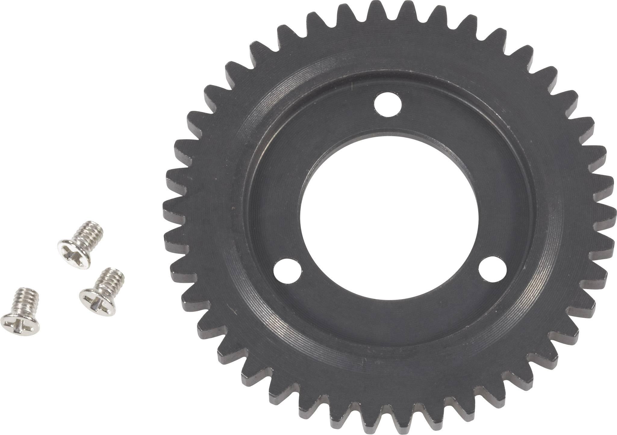 Ocelové hlavní ozubené kolo 2-rychlostní, 42 zubů, 1:10 (SETM065)