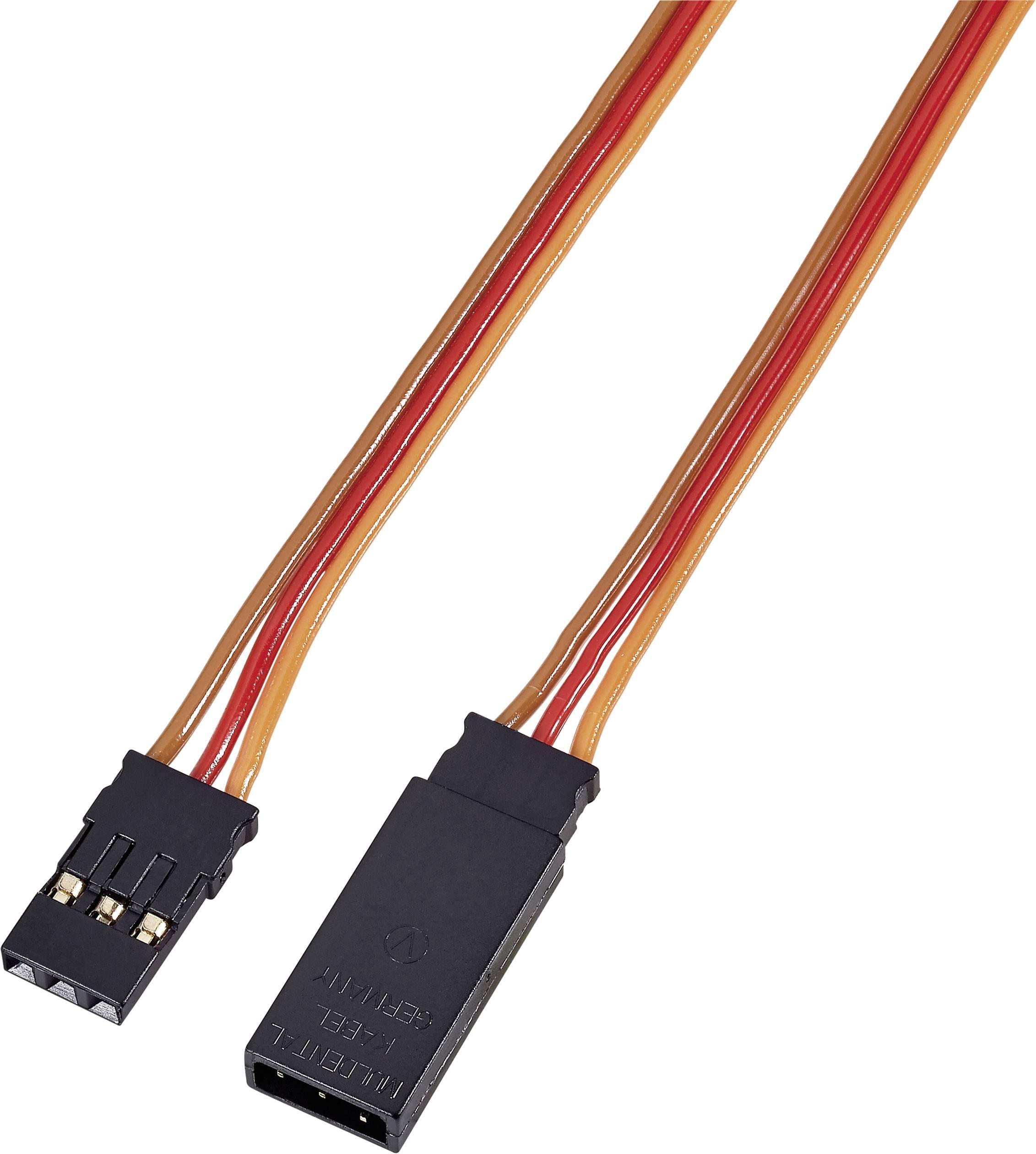 Prodlužovací kabel Modelcraft, konektor JR, 25 cm, 0,14 mm²