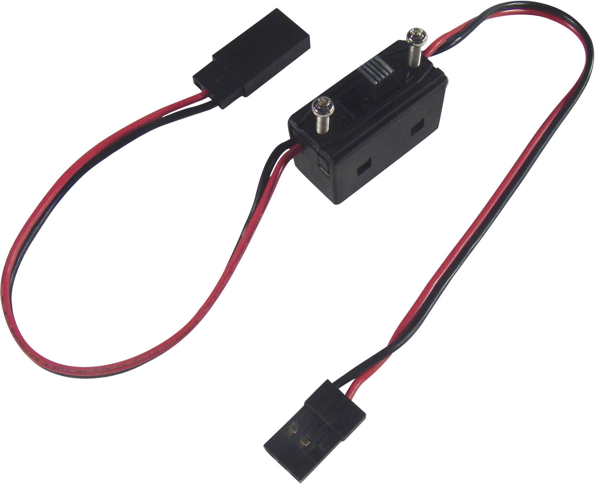 Vypínač s JR konektory Modelcraft, 0,14 mm²