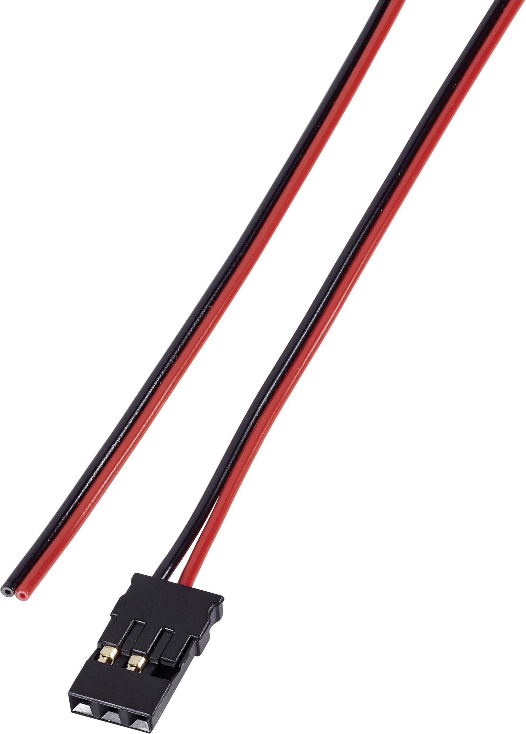 Napájecí kabel Modelcraft, JR zásuvka, 300 mm, 0,14 mm²
