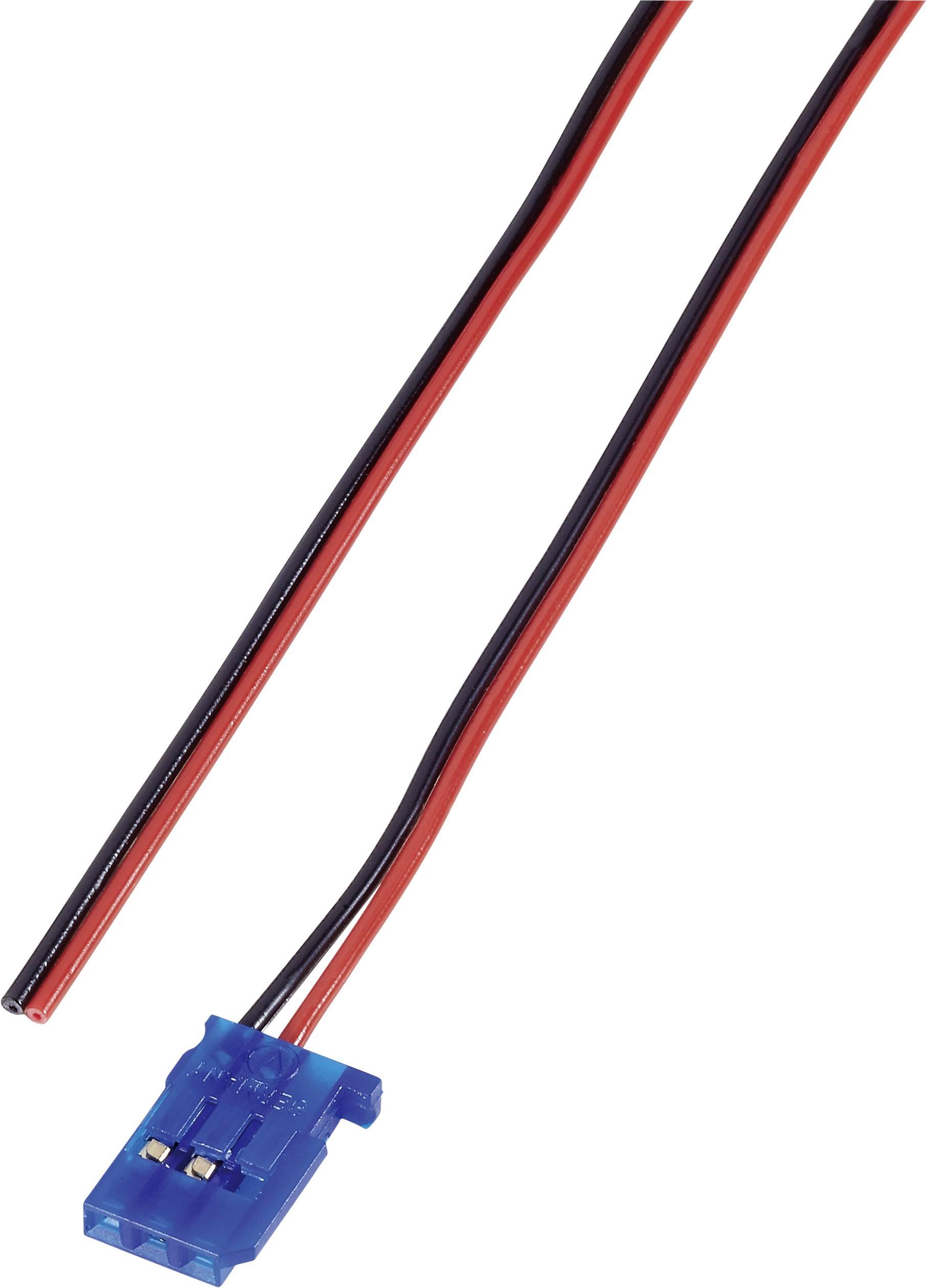 Napájecí kabel Modelcraft, Futaba zásuvka, 300 mm, 0,14 mm²
