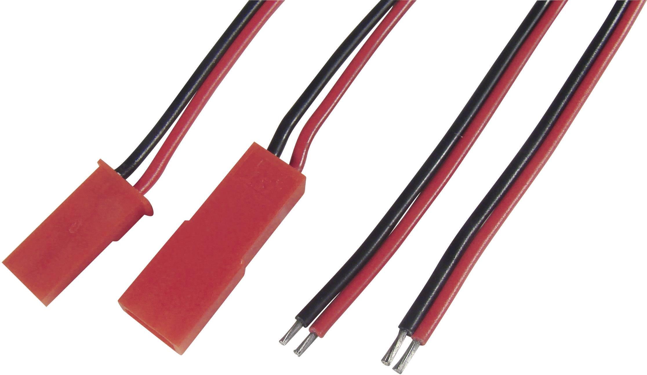 Napájecí kabely Modelcraft, BEC zástrčka a zásuvka, 0,50 mm²