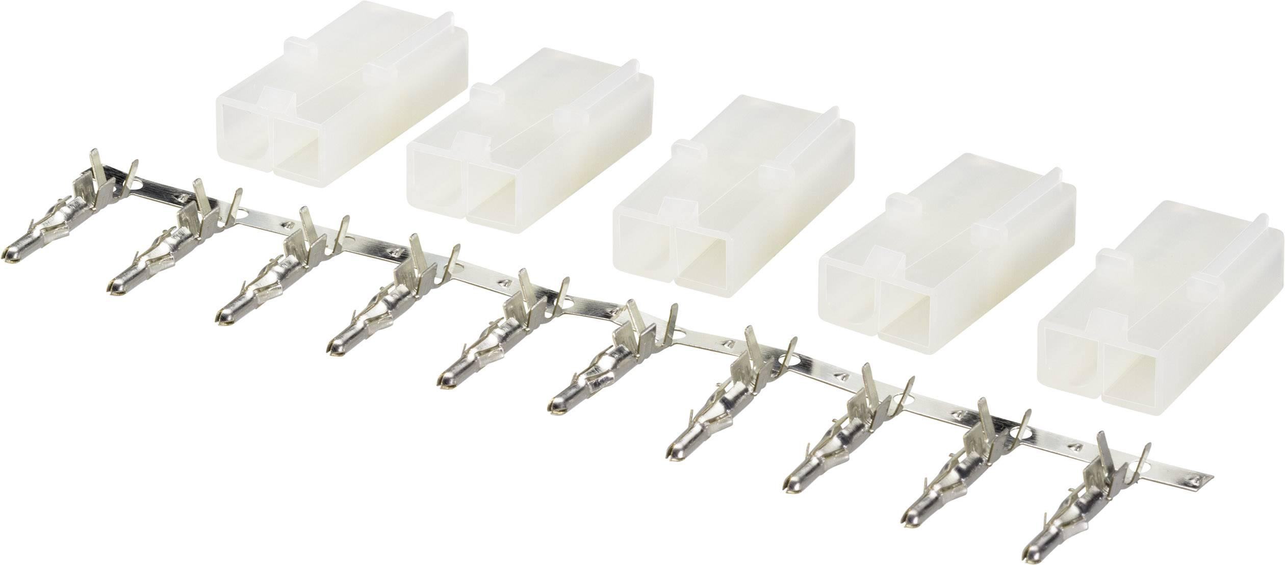 Zásuvkový konektor k prepojeniu akumulátora a regulátora RC modelu Modelcraft 223982, Tamiya, 1 sada