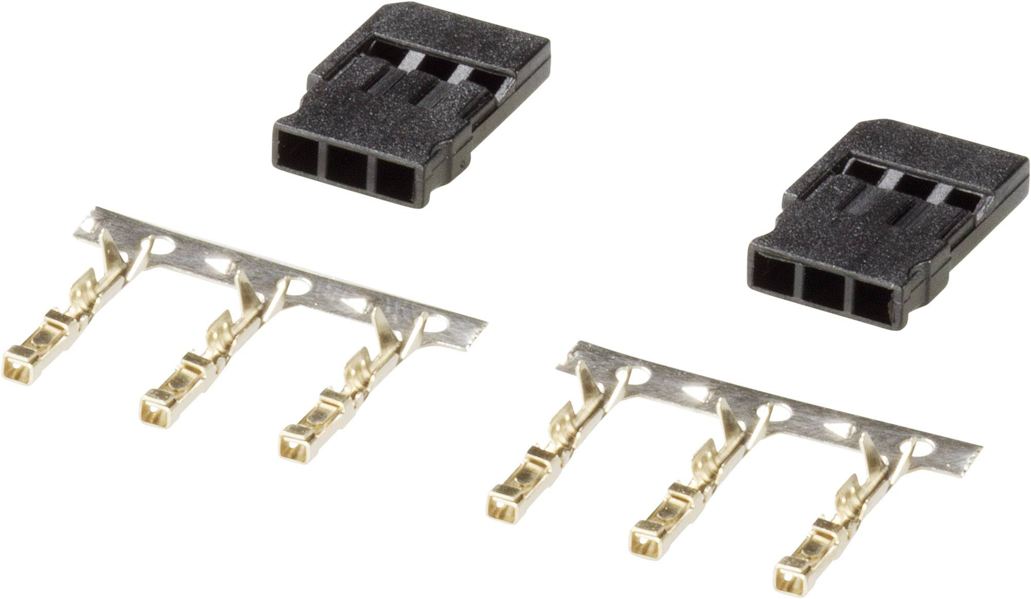 Servo zásuvka Modelcraft 223995, Futaba, 1 pár