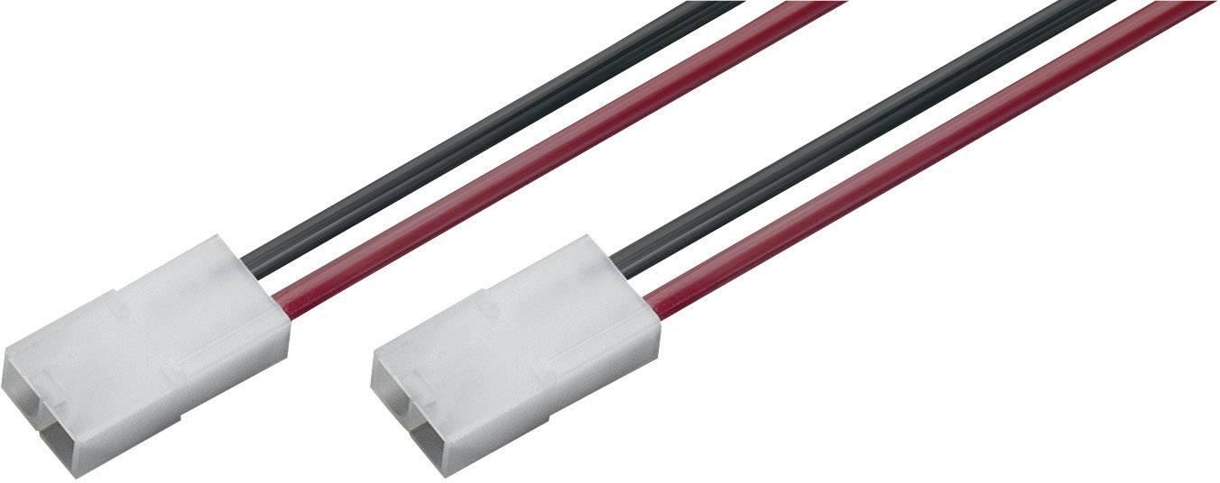 Napájecí kabel Modelcraft, Tamiya zástrčka, 1,5 mm², 1 pár