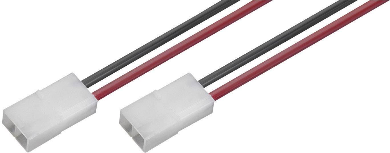 Napájecí kabel Modelcraft, Tamiya zástrčka, 2,5 mm², 1 pár