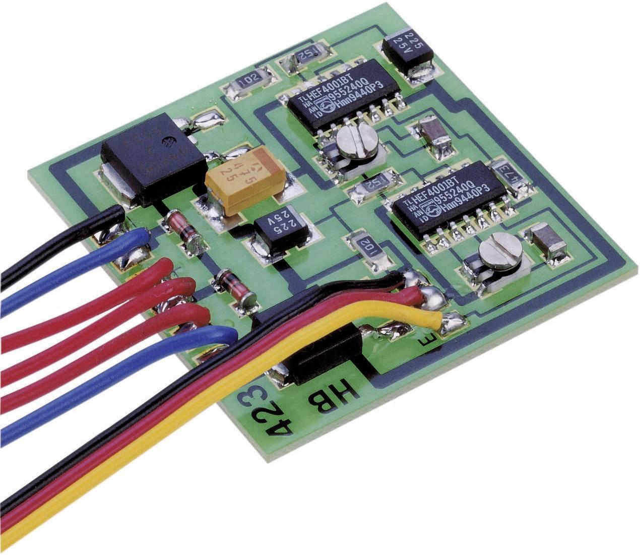 2kanálový přepínač, sestavený modul SMD