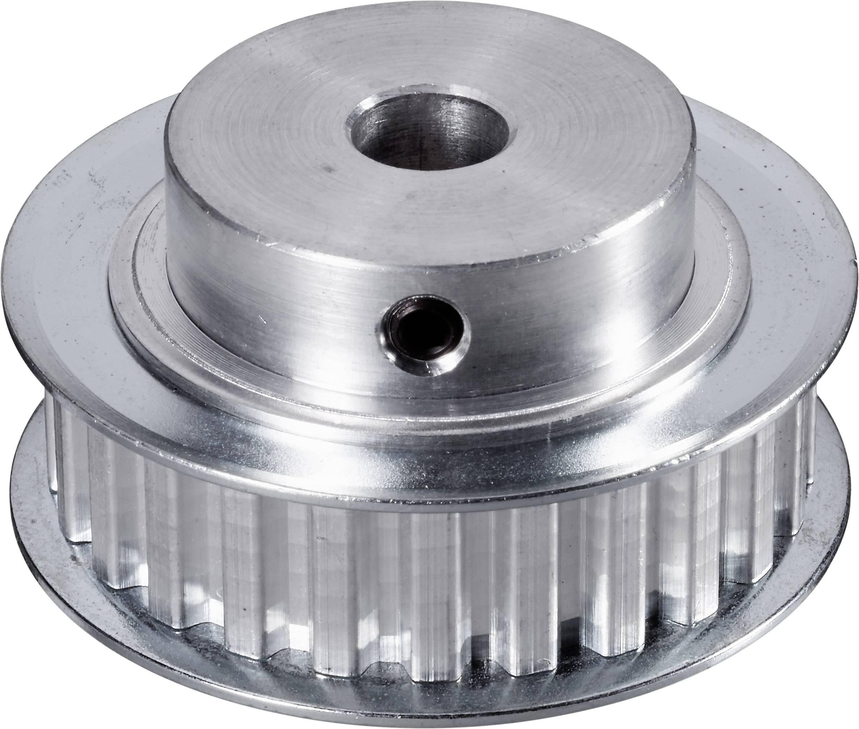 Ozubená řemenice hliníková Modelcraft, 25 zubů (8 mm)