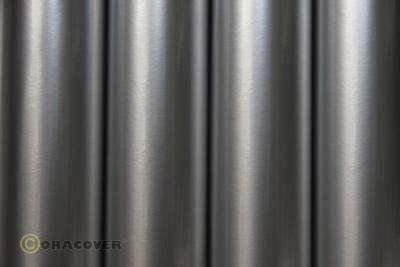 Nažehlovací fólie Oracover 21-091-002, (d x š) 2 m x 60 cm, stříbrná