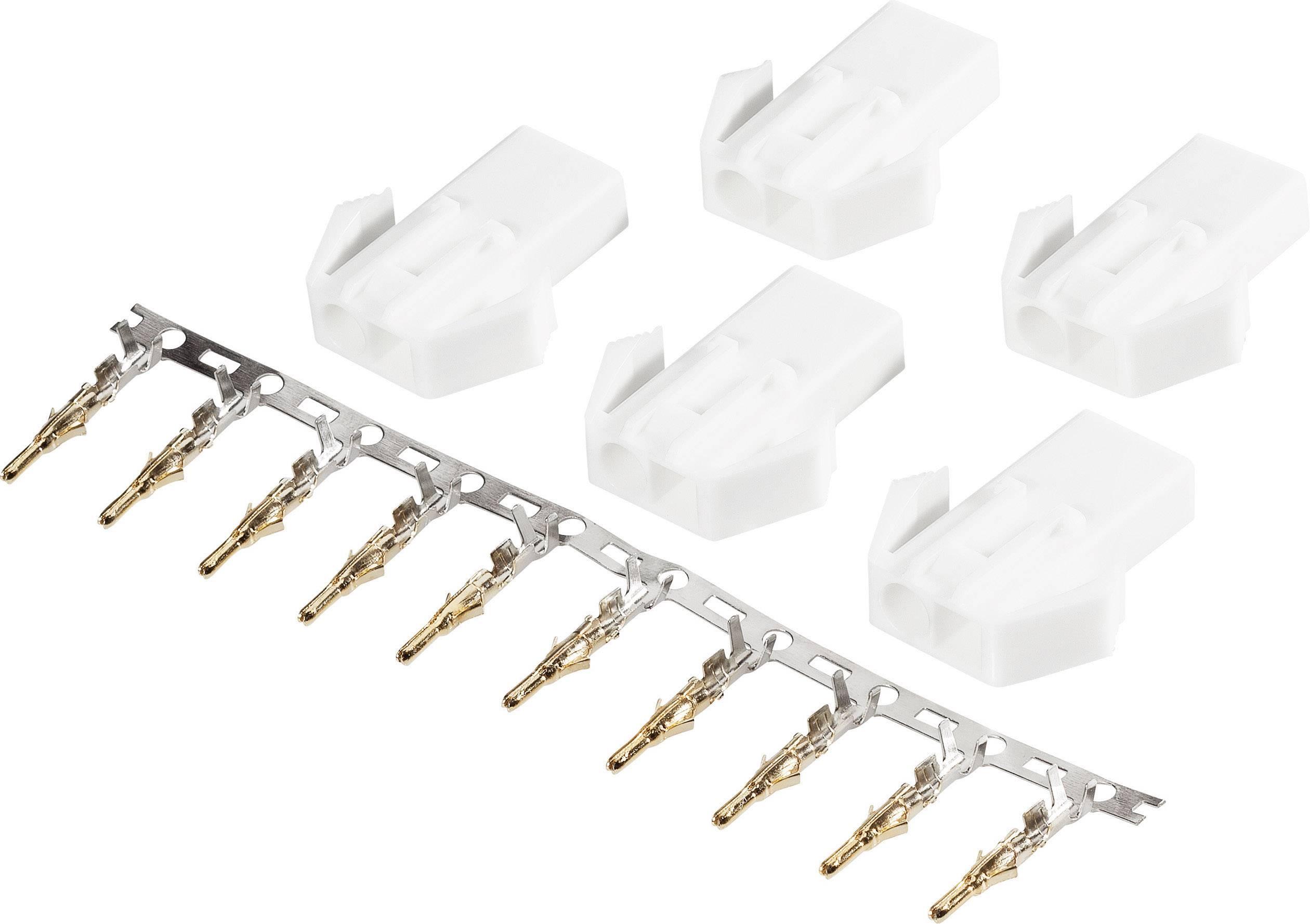 Zásuvkový konektor k prepojeniu akumulátora a regulátora RC modelu Modelcraft 227321, mini-Tamiya, 1 sada