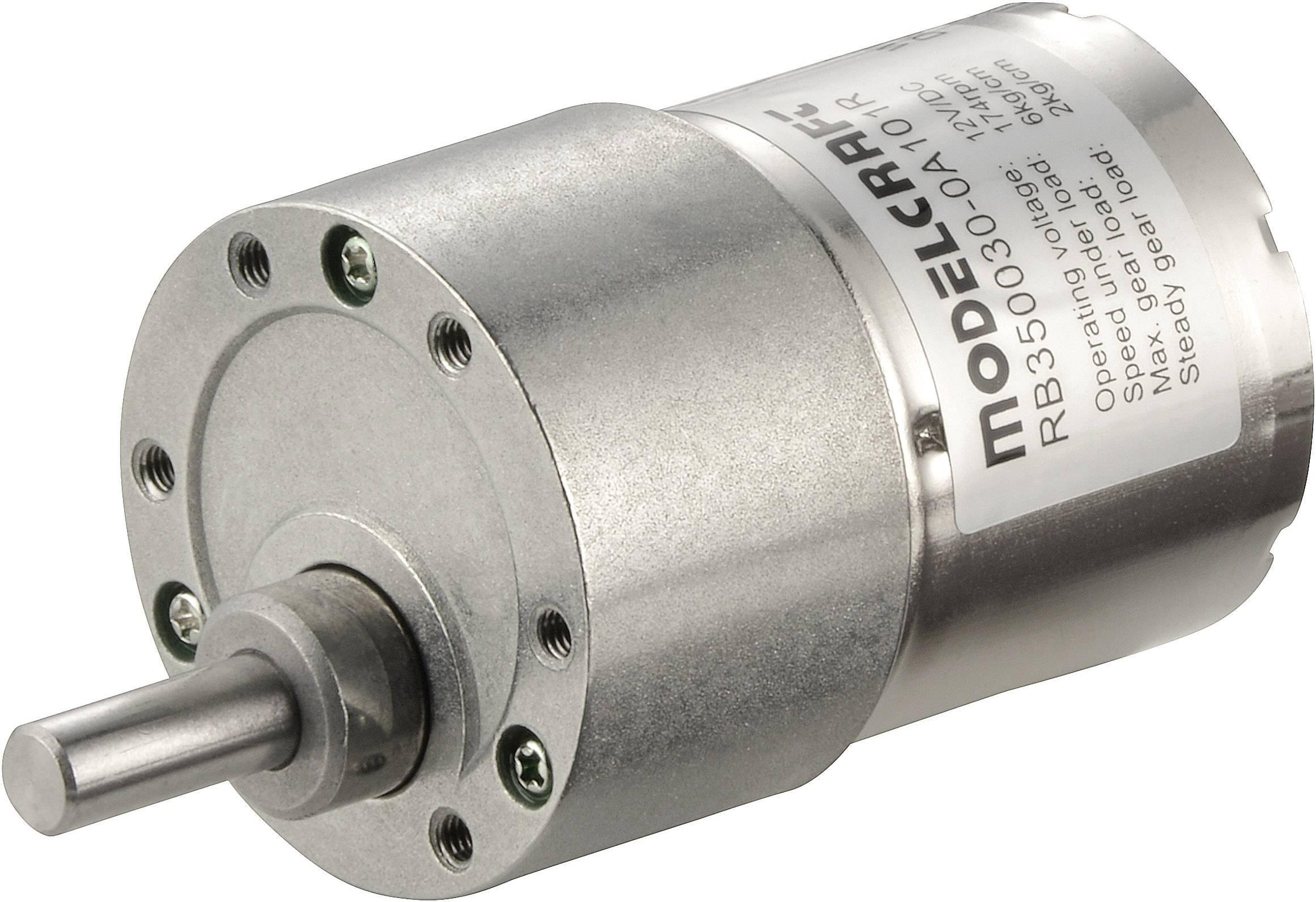 Motor s převodem Modelcraft RB350050-0A101R, 12 V, 50:1