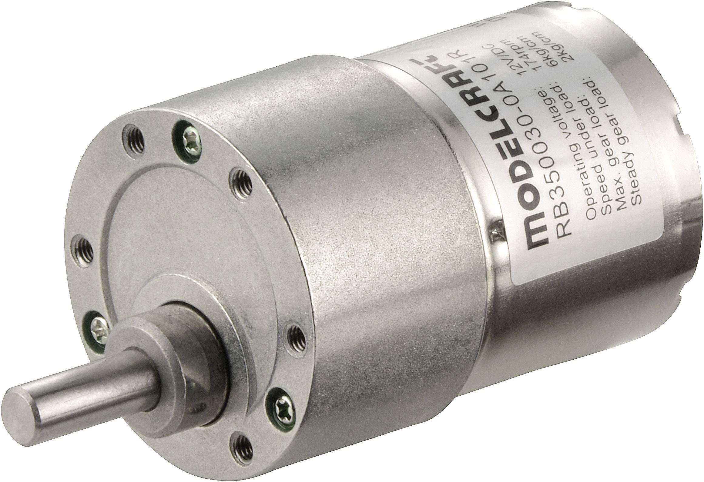 Prevodový motor Modelcraft RB350050-0A101R, 12 V, 50:1
