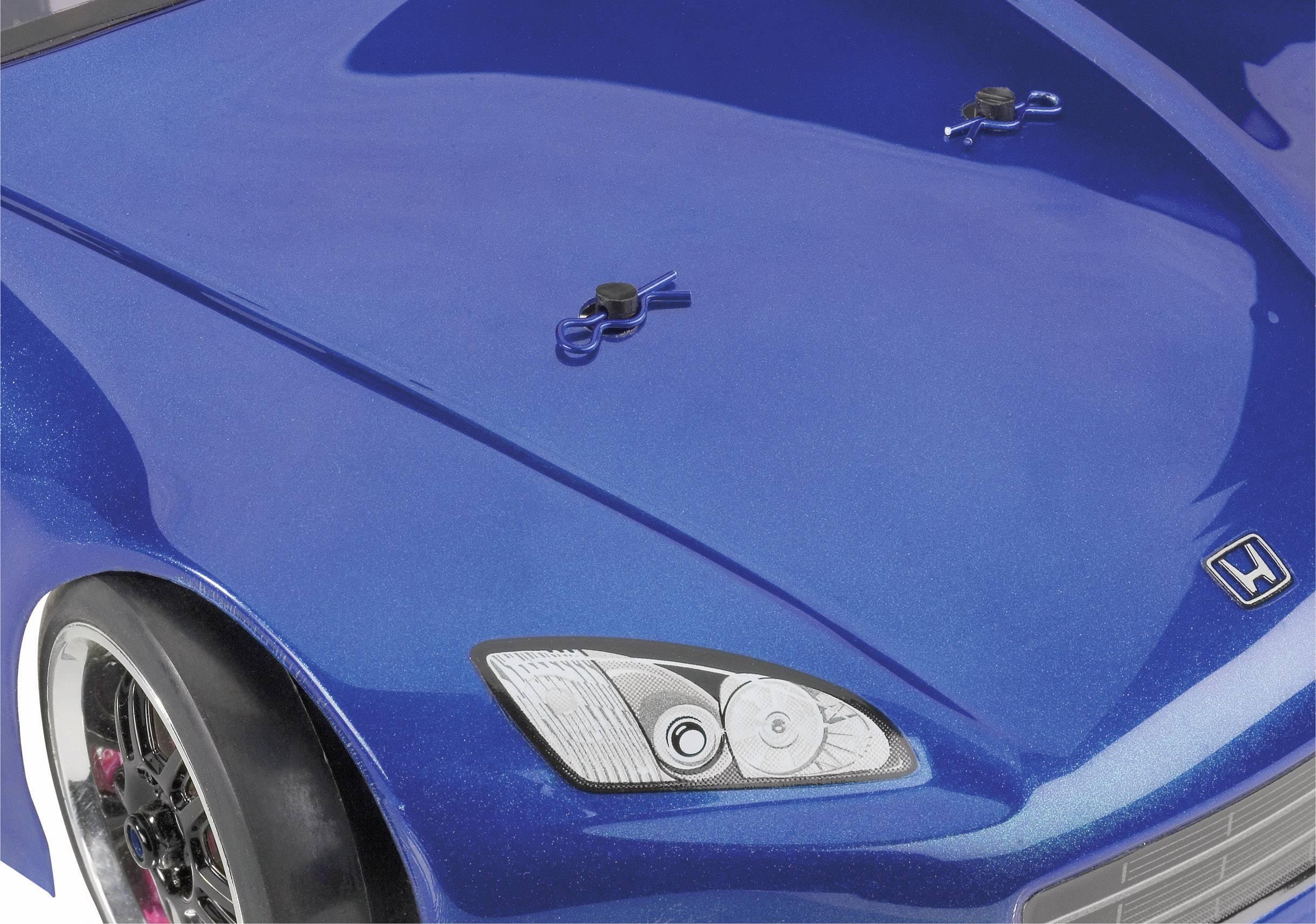 Sponky karoserie Reely, 15 mm, 1:10, 5 ks, modrá