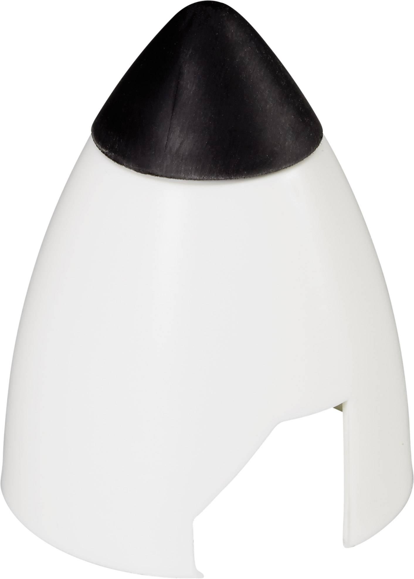Kužel s gumovou špičkou Graupner, Ø 40 mm, bílá