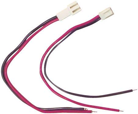 Napájecí kabel Modelcraft, Micro-Car zástrčka/zásuvka, 0,5 mm²