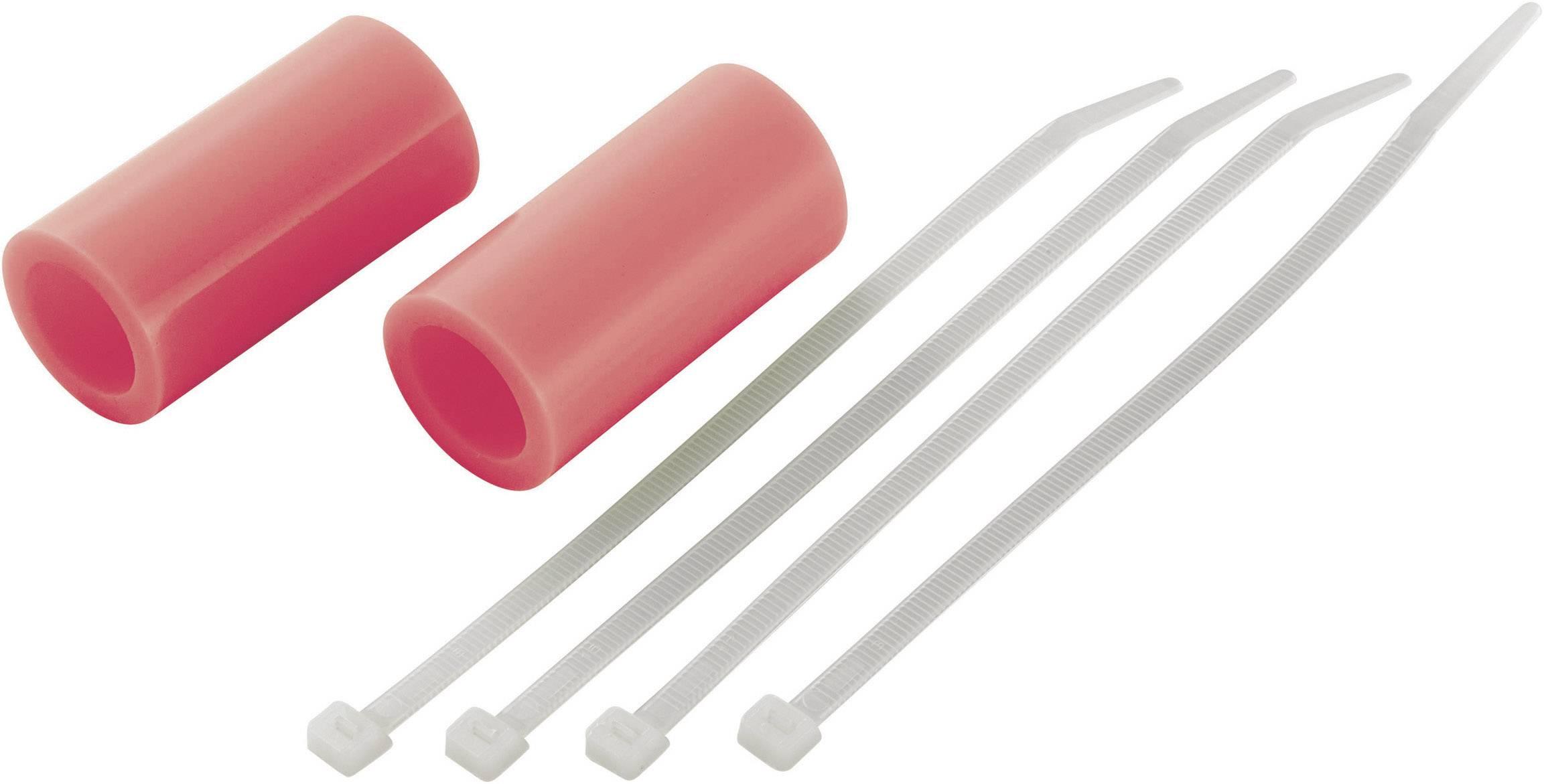 Spojovací hadice výfuku Reely, 55 mm, neonově červená, 1 pár
