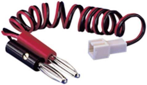 Nabíjecí kabel Modelcraft 208344, [2x banánková zástrčka - 1x ], 250 mm, 0.25 mm²