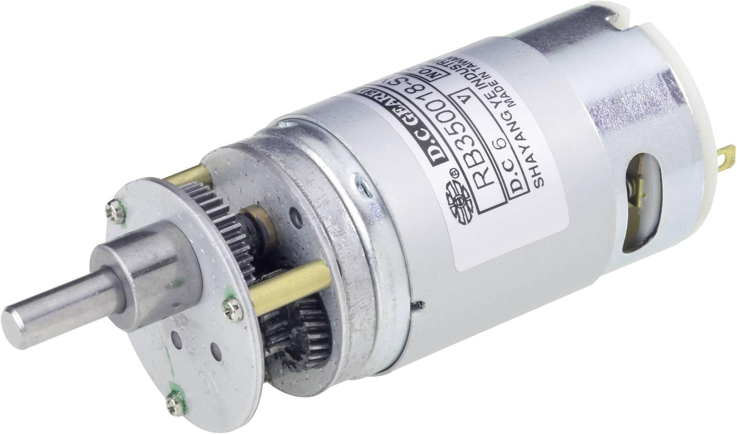 Vysoko výkonný motor Modelcraft RB350050-22H22R, 6 V, 50:1