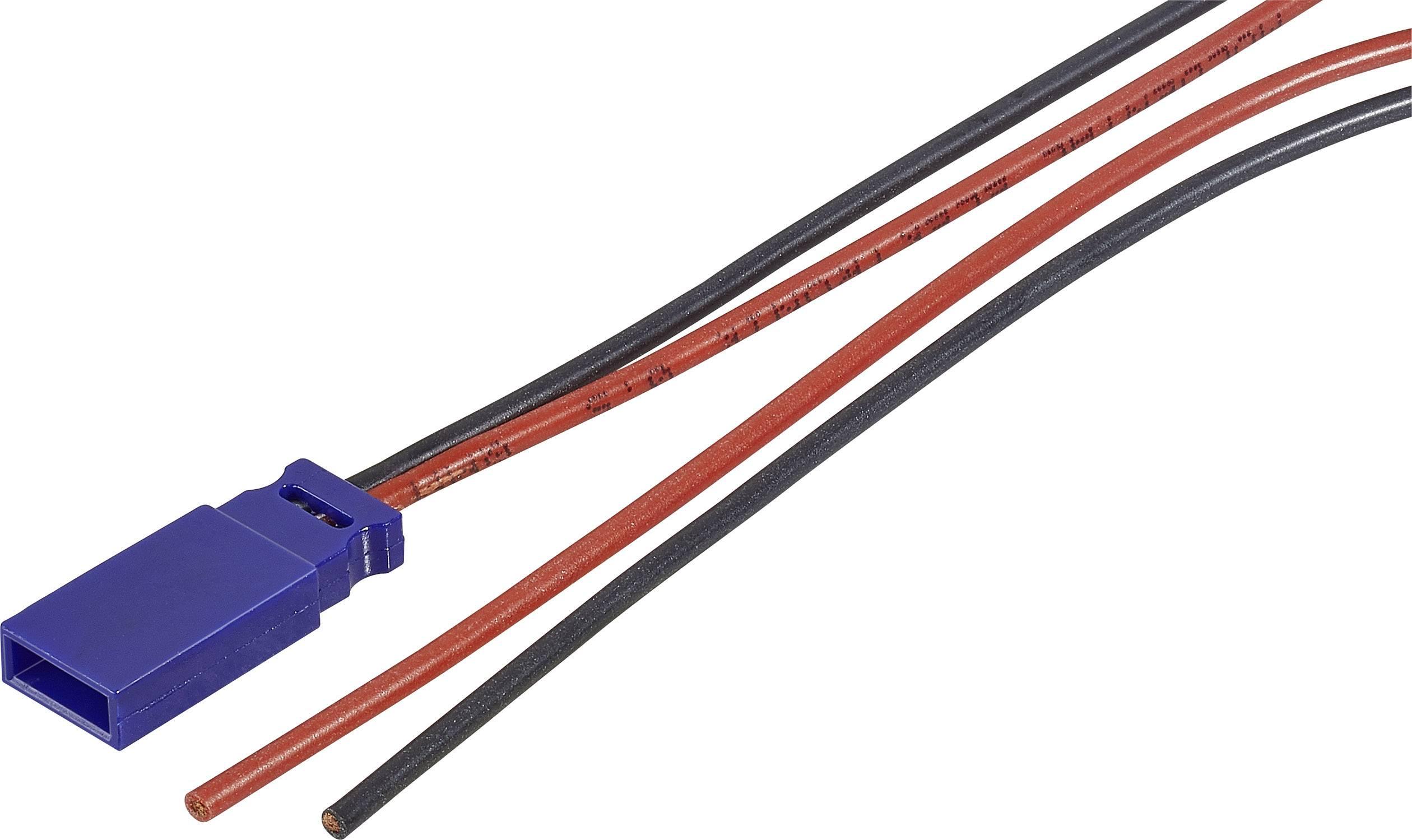 Napájecí kabel Modelcraft, JR zásuvka, 300 mm, 0,5 mm²