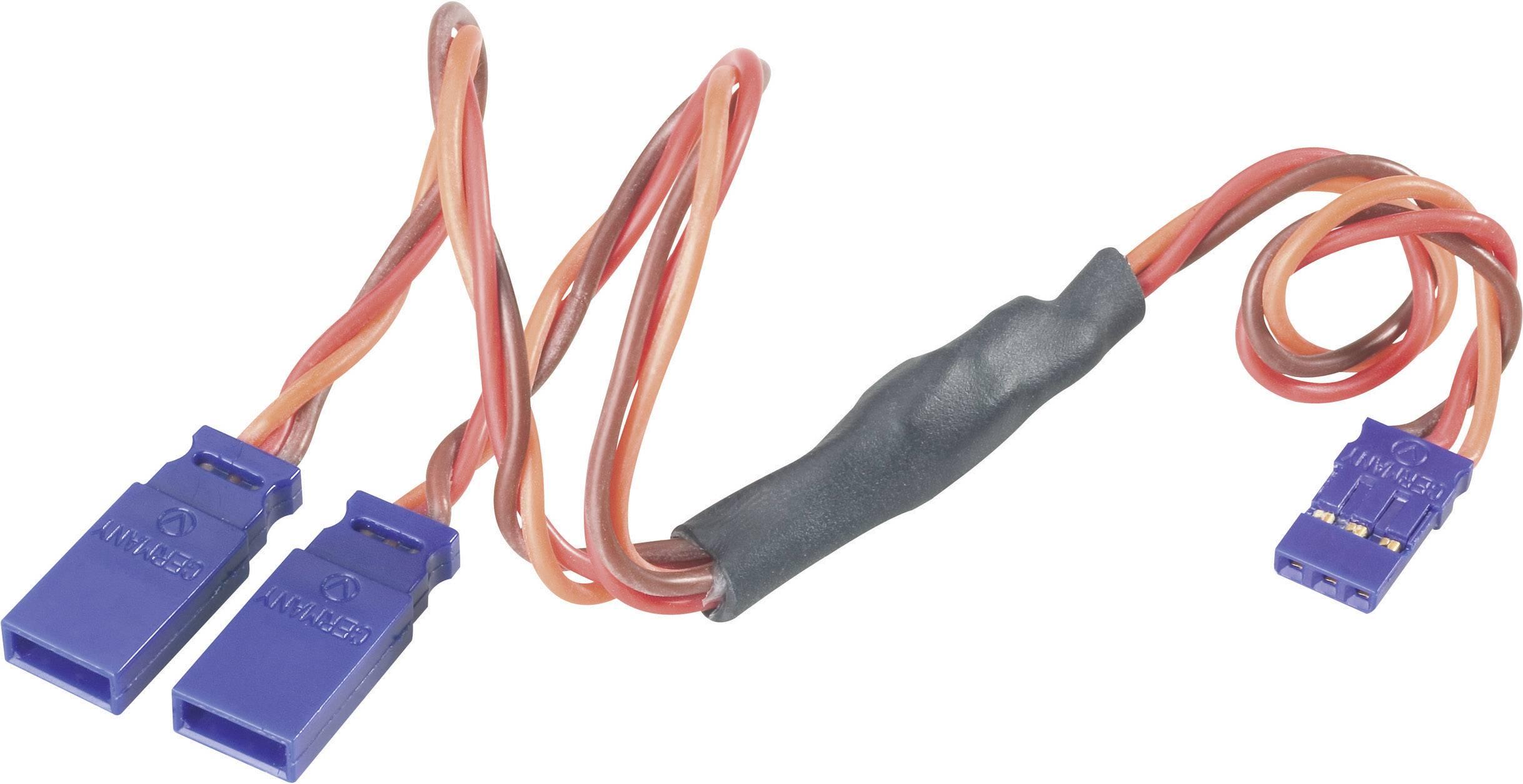 Y kabel Modelcraft, konektor JR, 30 cm, 0,35 mm²