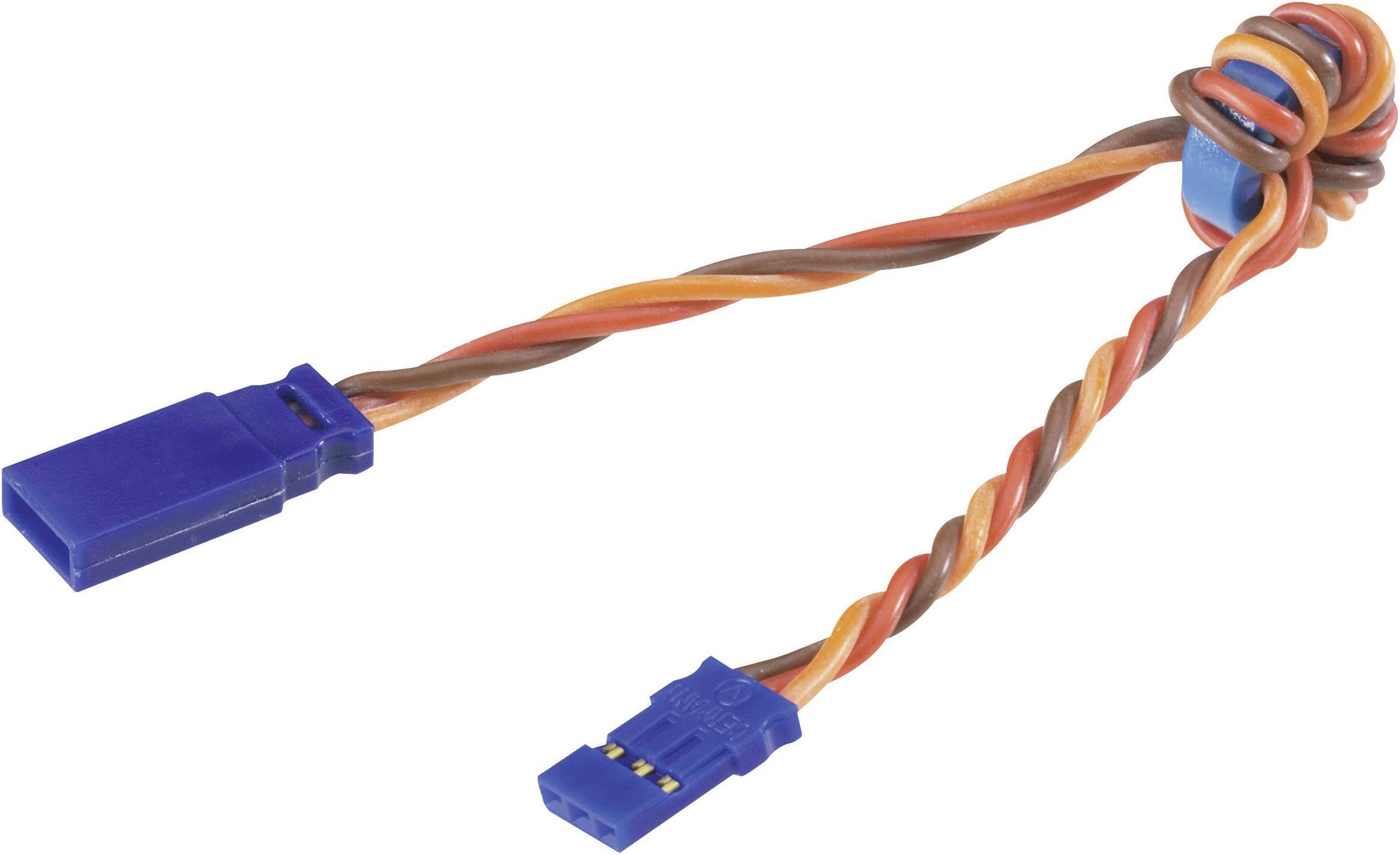 Odrušovací kabel JR, Modelcraft, 0,35 mm² , 300 mm