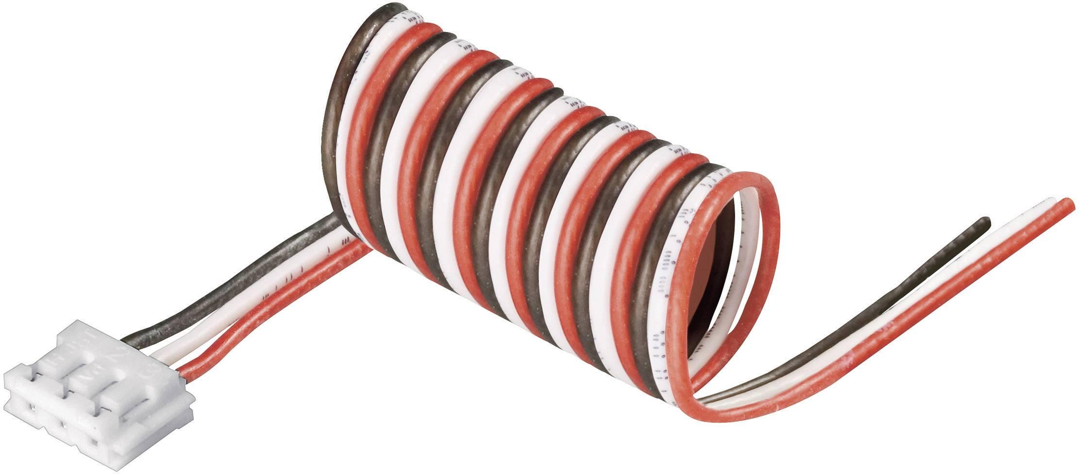 Připojovací kabel Modelcraft, pro 2 LiPol články, zásuvka EH