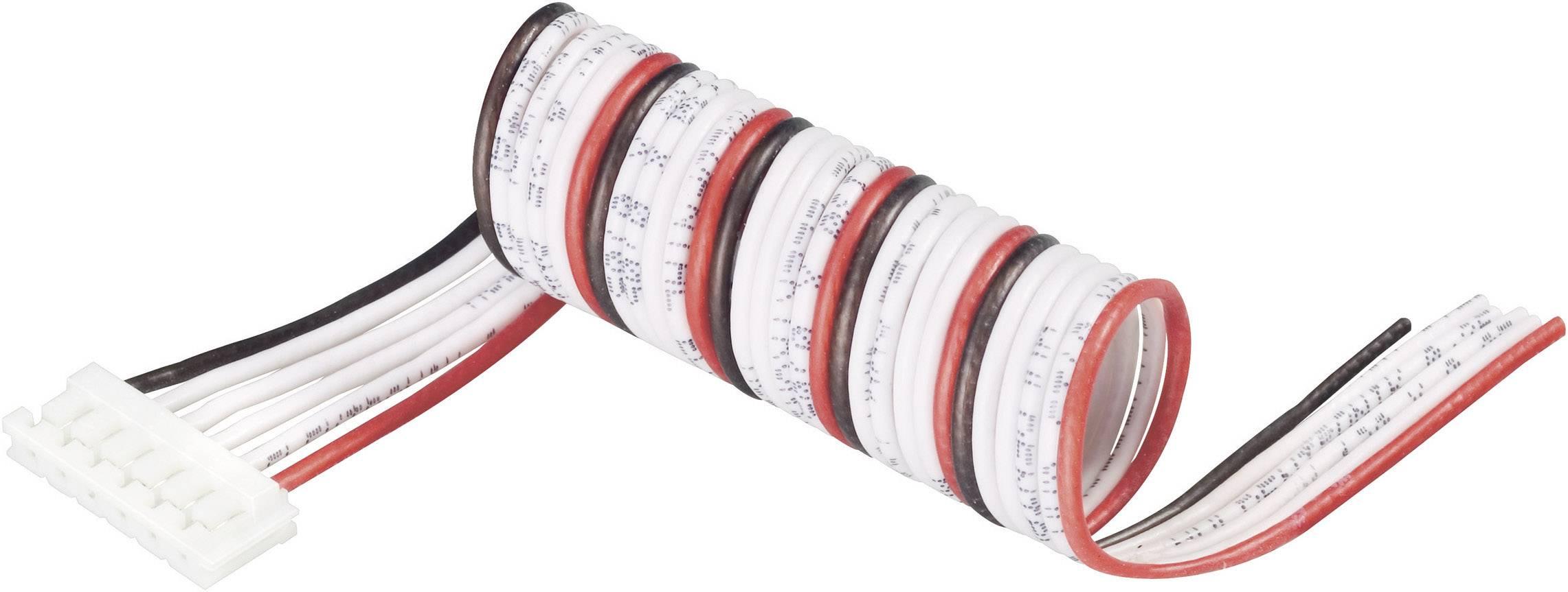 Připojovací kabel Modelcraft, pro 6 LiPol článků, zásuvka EH