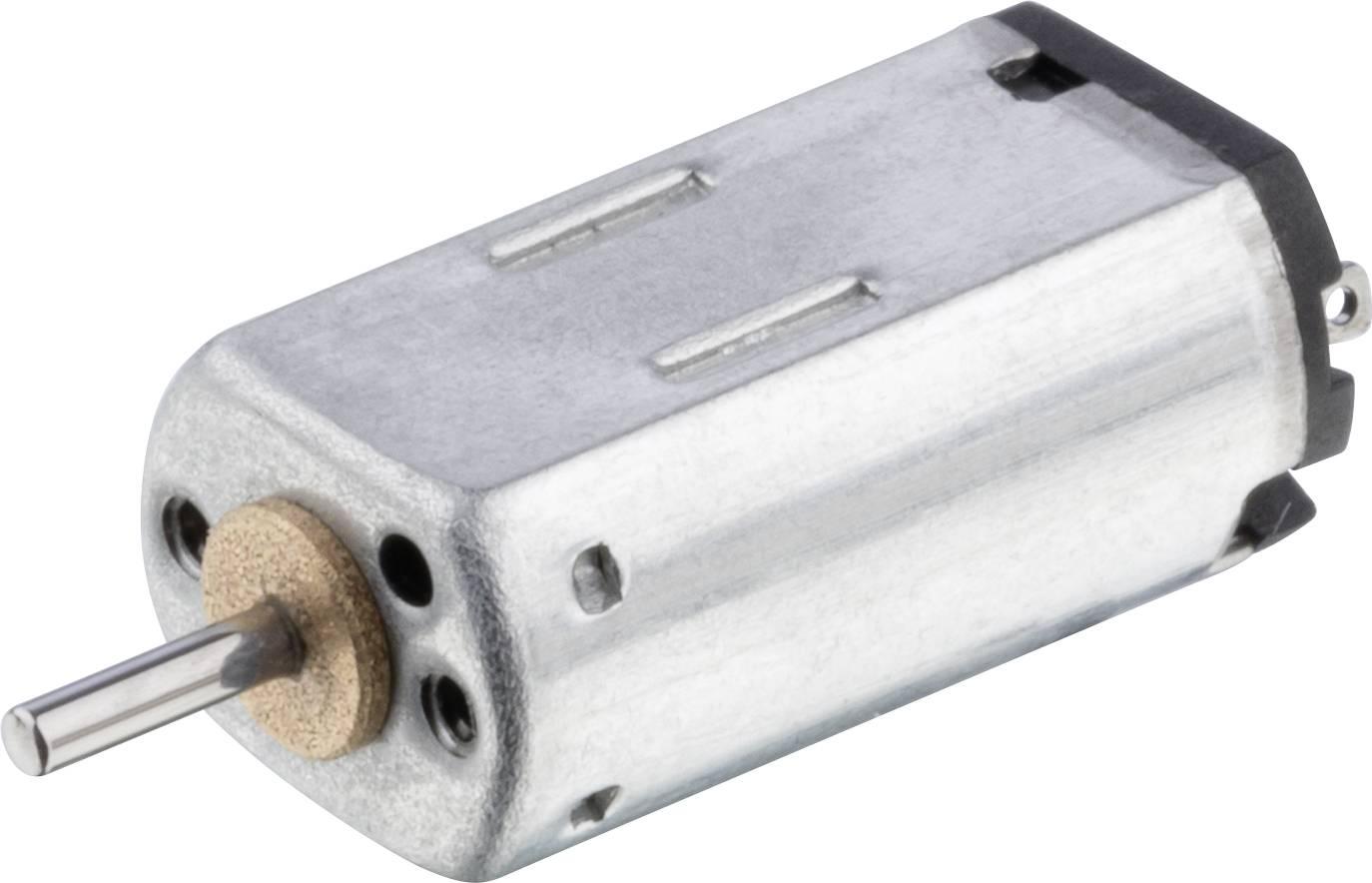 Mikro elektromotor Motraxx K20WD, 3 V, 11 800 ot./min.