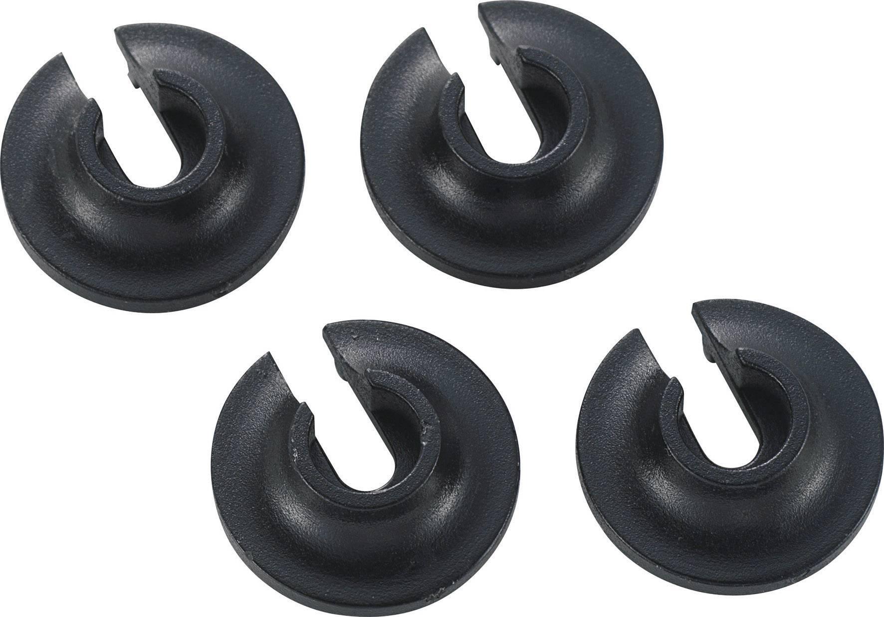 Zarážky pružin olejových tlumičů Reely, 1:10, 4 ks (VA1125)