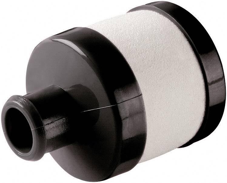 Silikonové koleno vzduchového filtru Reely, černá