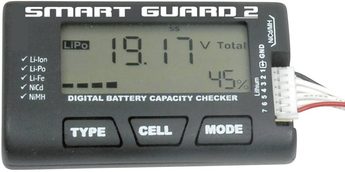 Zkoušečka akumulátorů T2M Smart Guard 2