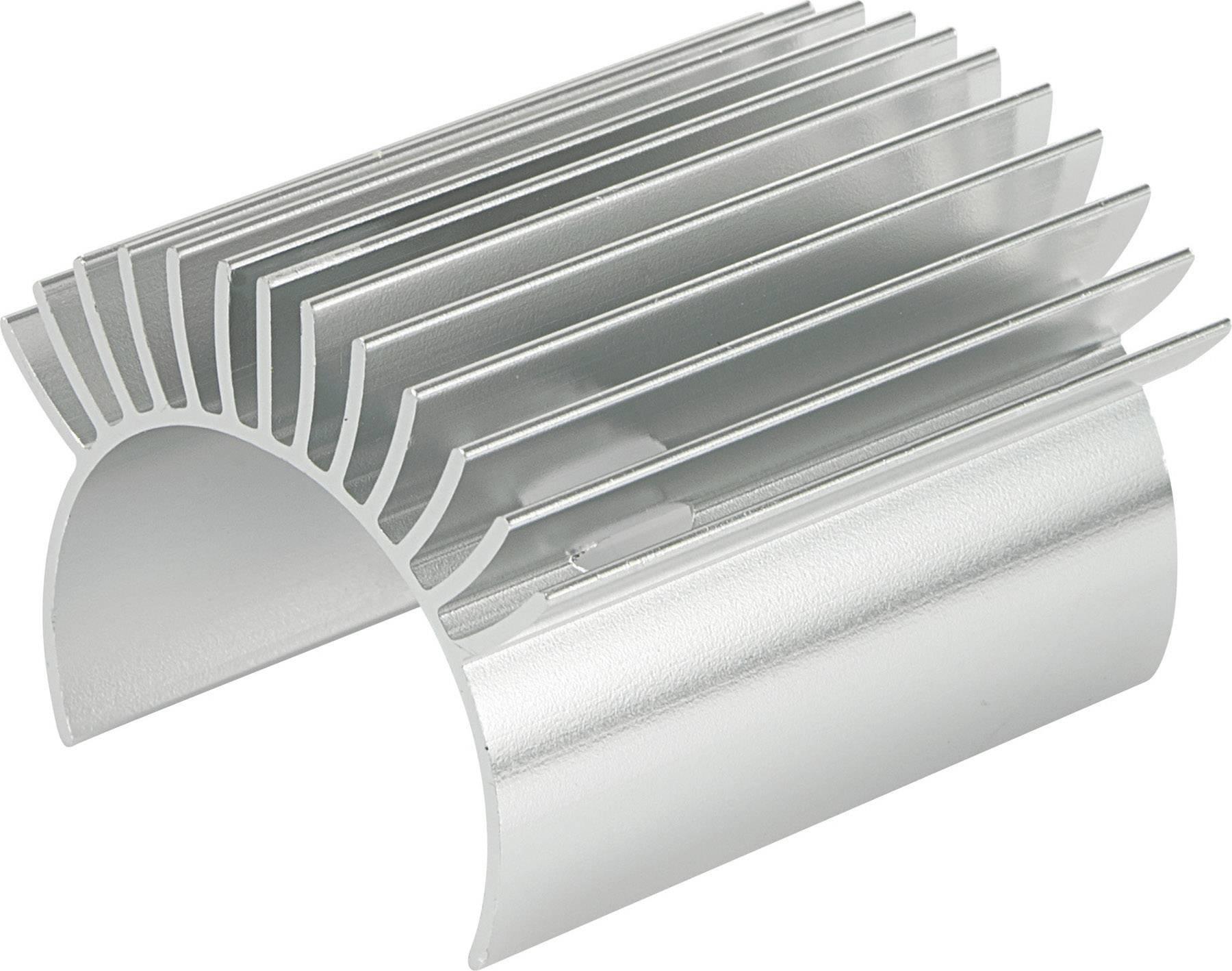 Hliníkový chladič Reely Extreme, 48 mm, stříbrná