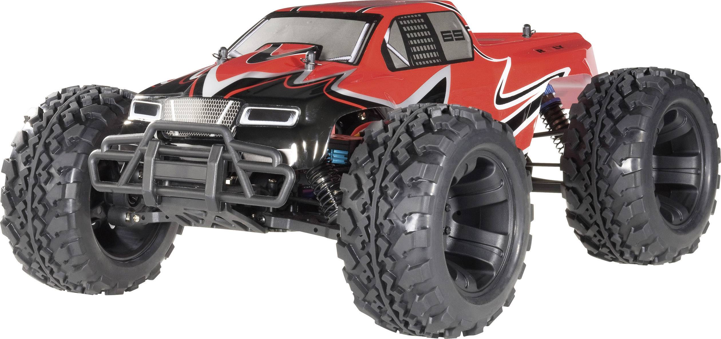 RC model auta monster truck Reely Titan, 1:10, 4WD (4x4), stavebnice