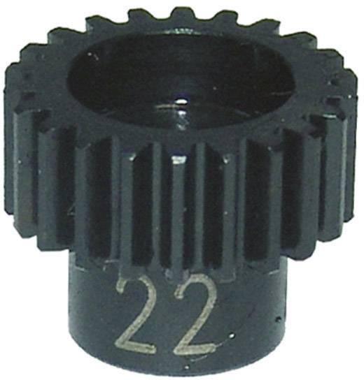 Ocelový motorový pastorek Reely, 48 DP, 22 zubů (EL0221S)