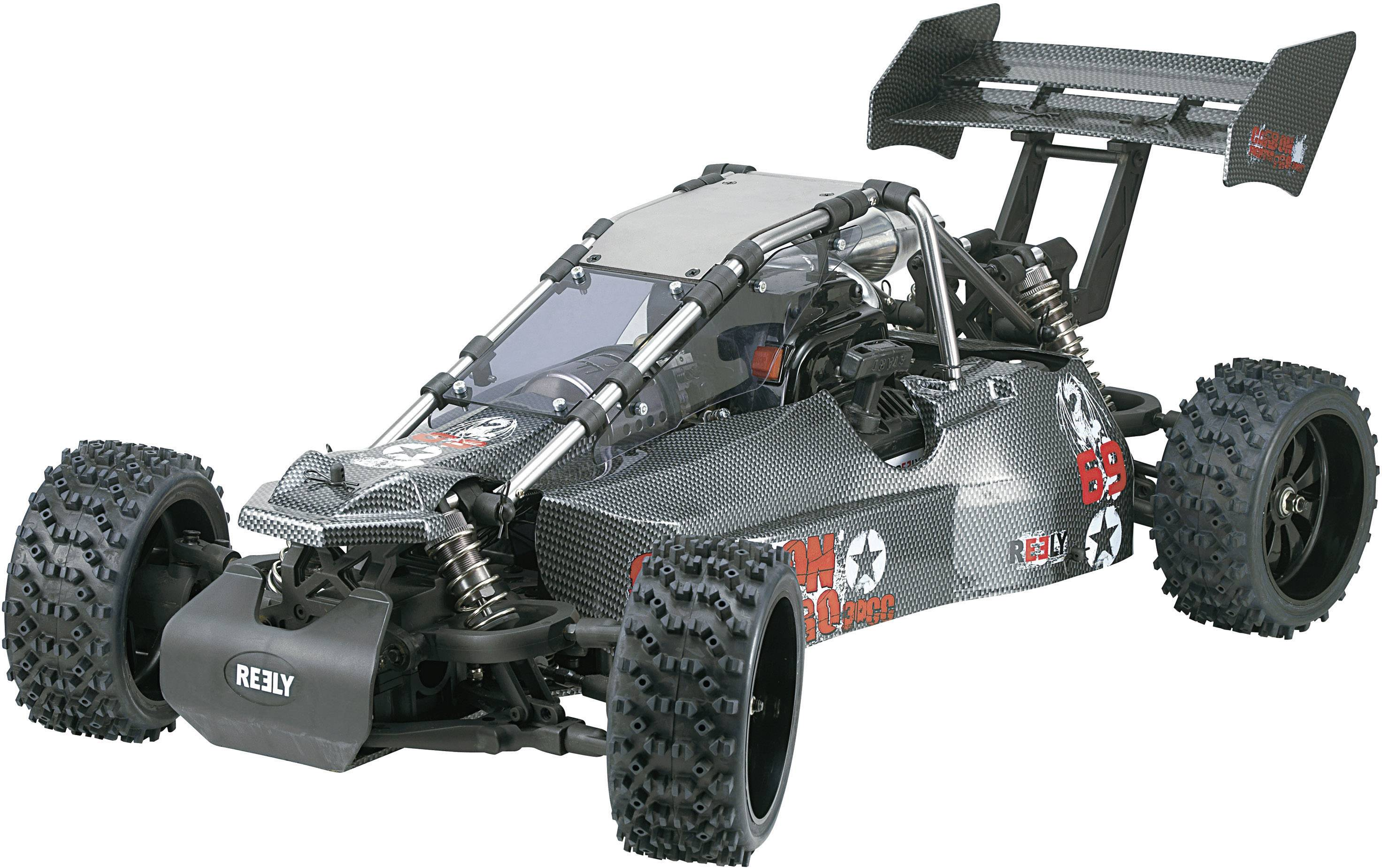 Reely 112196C tuningový diel vhodné pre 1:6 Buggy Carbon Fighter ARR (236999), 1:6 Buggy Carbon Fighter Pro RtR (236666), 1:6 Buggy Carbon Fighter RtR (236600)