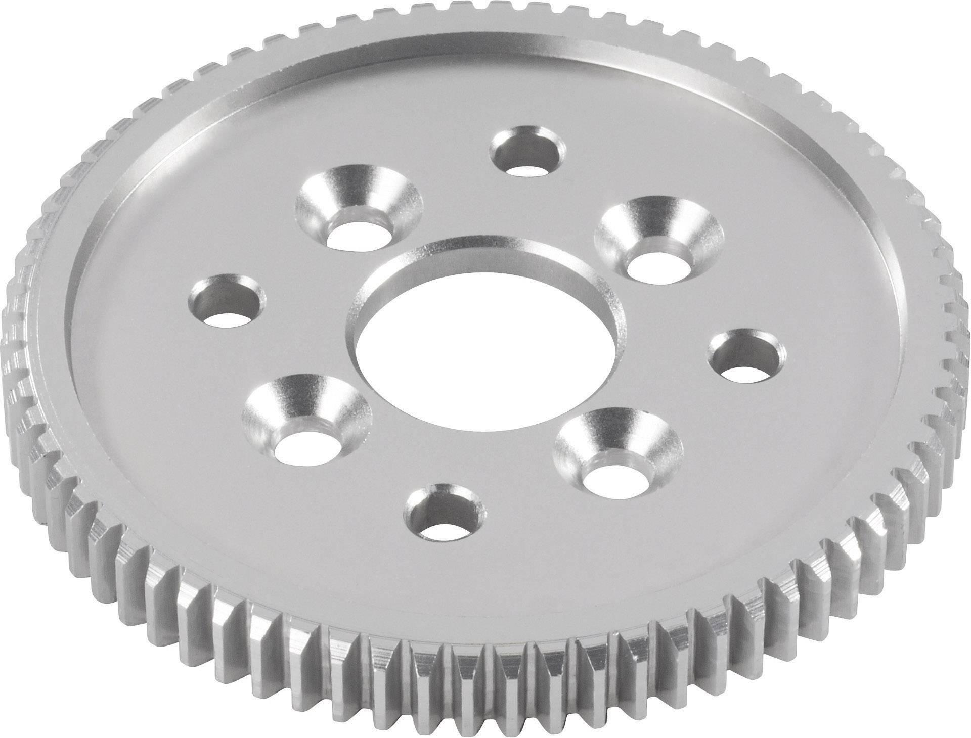 Hliníkové hlavní ozubené kolo Reely, 62 zubů (532033C)