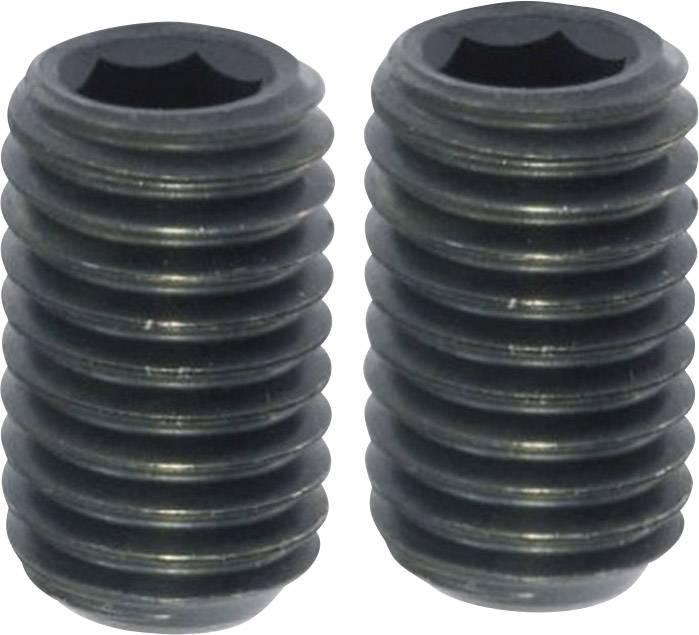 TOOLCRAFT 237515, N/A, M4, 5 mm, oceľ, 20 ks