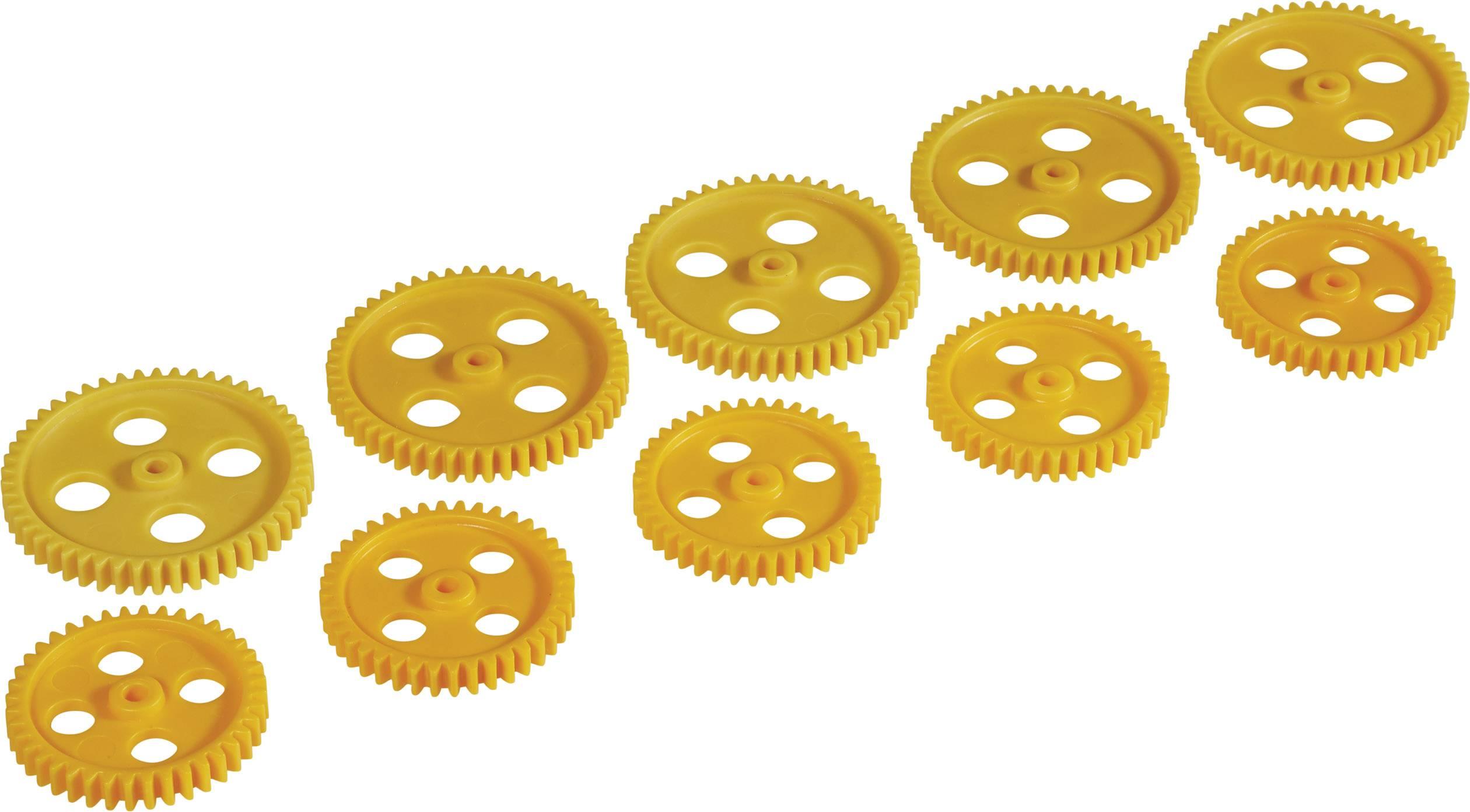 Sada ozubených koleček Modelcraft, zubů 40/50, M1, 10 ks