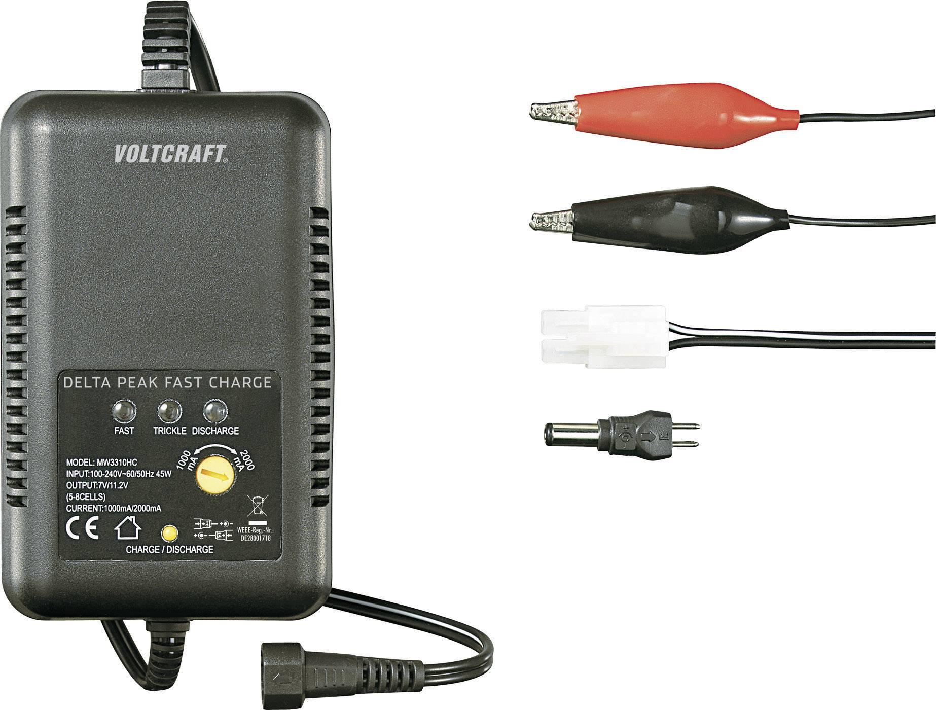 Modelářská nabíječka Voltcraft MW3310HC, 2 A