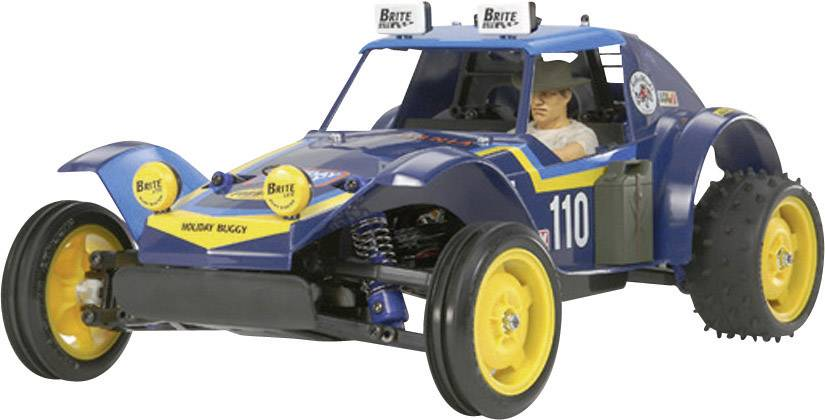 RC model auta buggy Tamiya Holiday, komutátorový, 1:10, zadný 2WD (4x2), BS