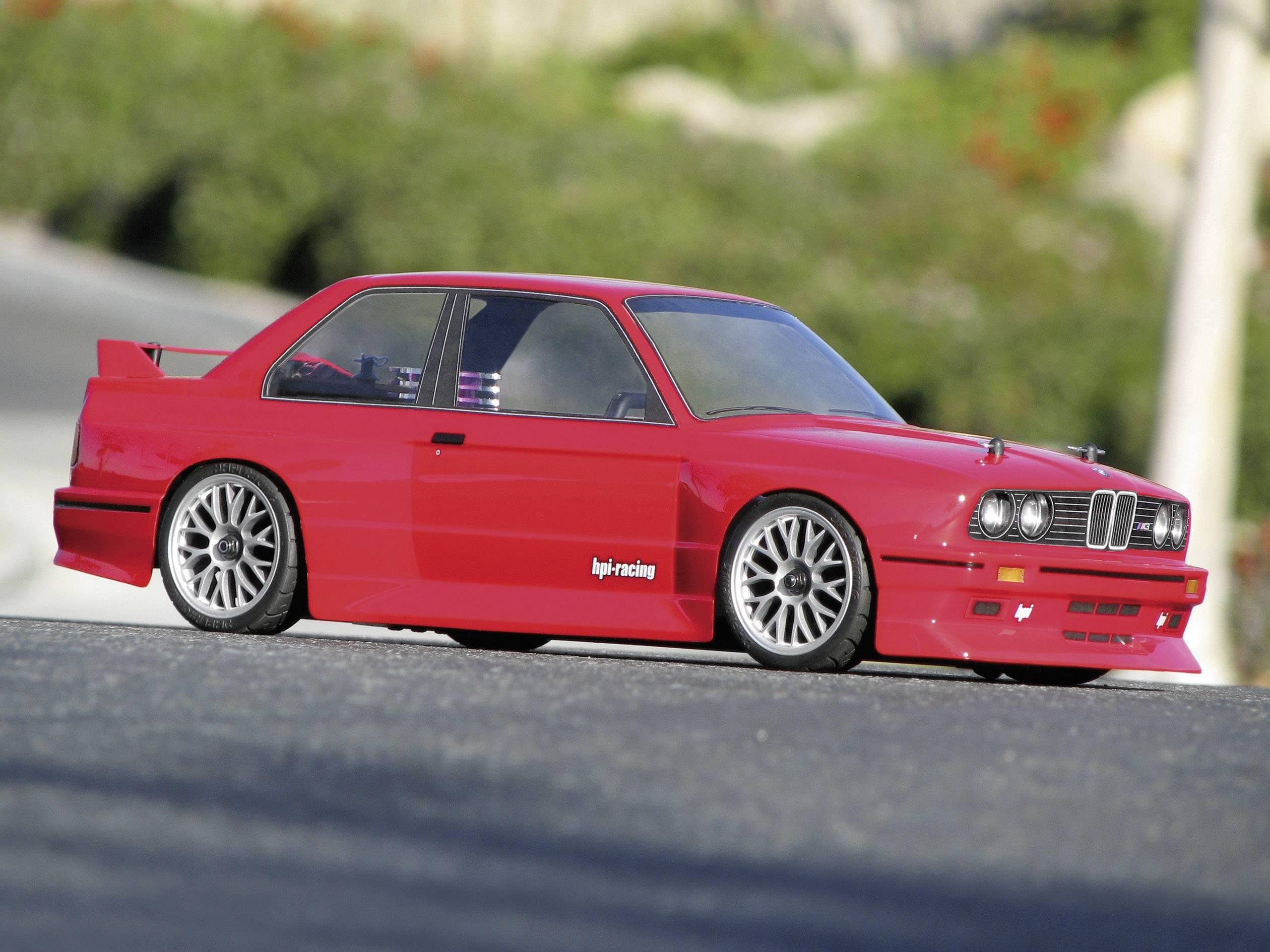 Karoserie RC modelu BMW M3 E30 , 1:10