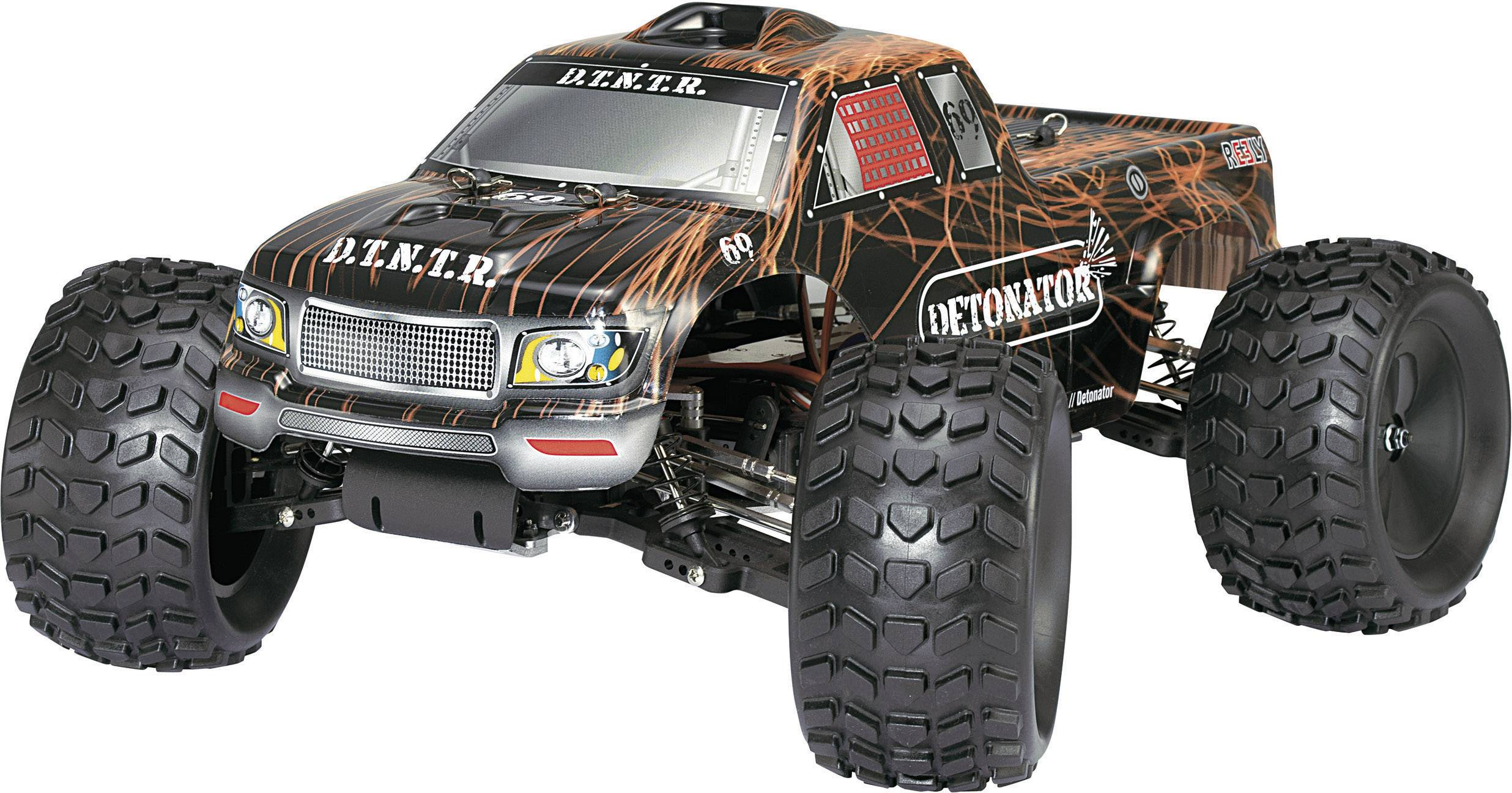 NITRO Monstertruck Detonator 2WD RTR