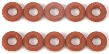 O kroužky Tamiya (50597), sada 10 ks, červená