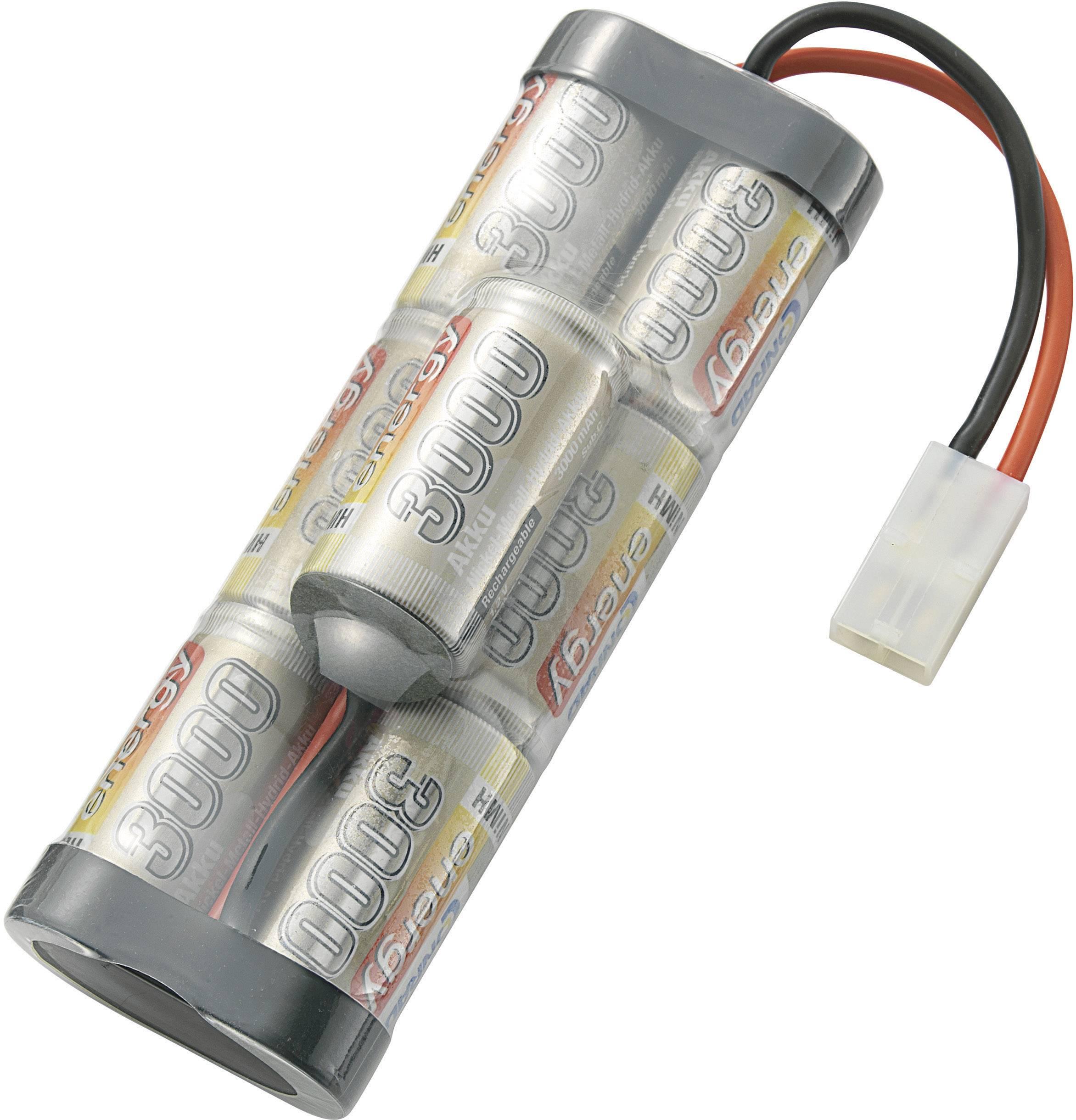 Akupack NiMH Conrad energy SC1.2/*7 3000MAH, 8.4 V, 3000 mAh