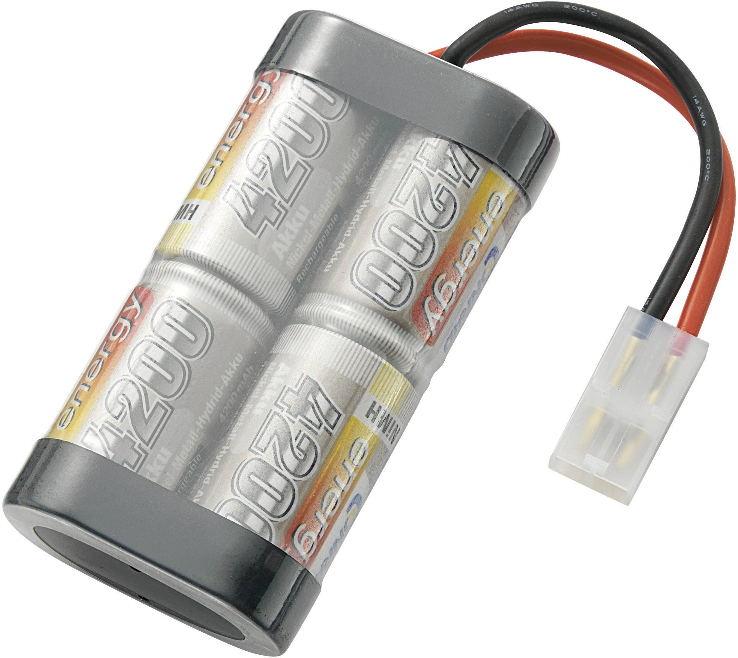 Akupack NiMH (modelářství) Conrad energy SC 4200MAH 4.8V, 4.8 V, 4200 mAh