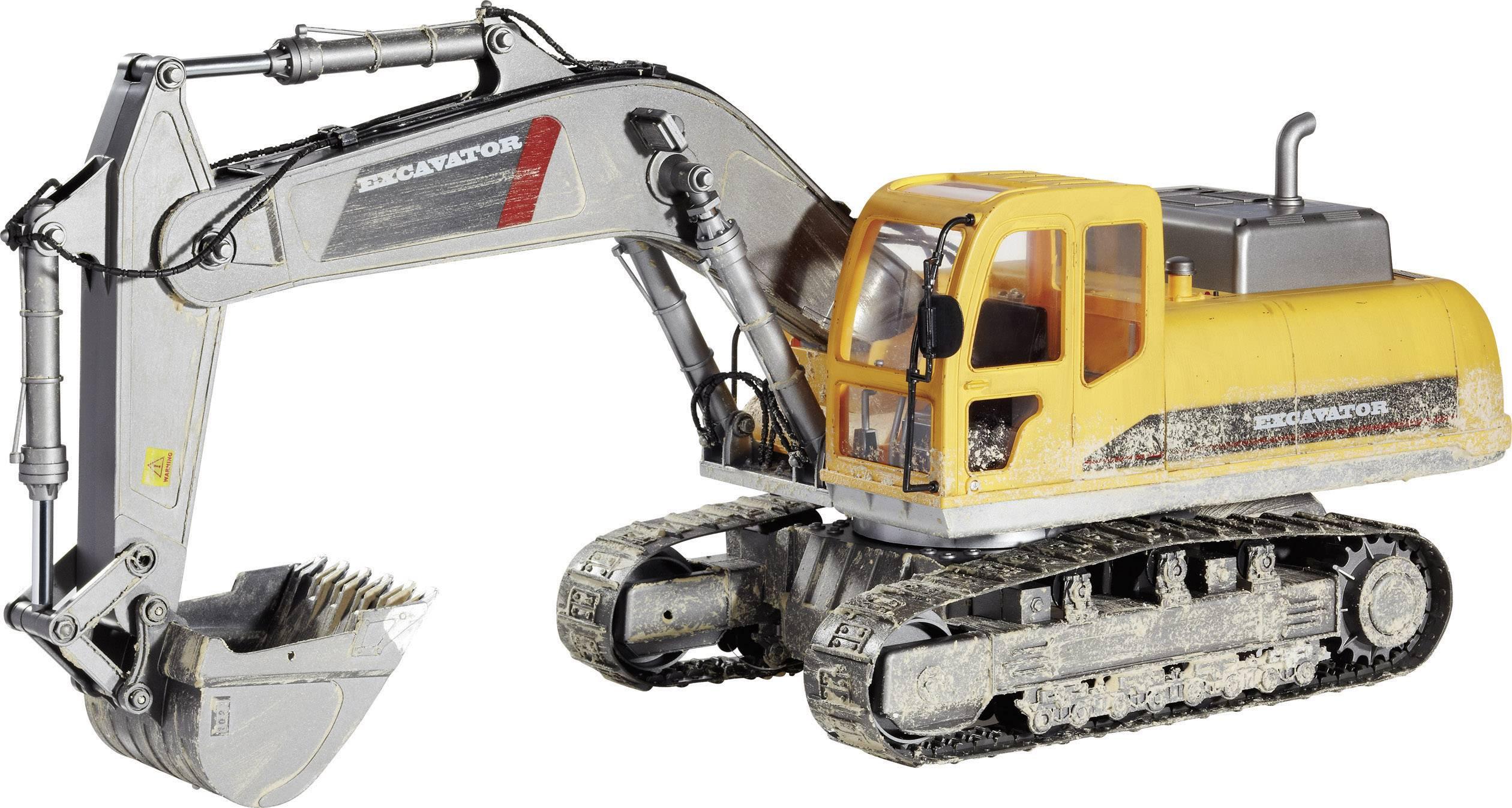 Dálkově ovládané traktory, stavební stroje